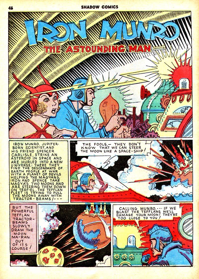 Read online Shadow Comics comic -  Issue #7 - 39