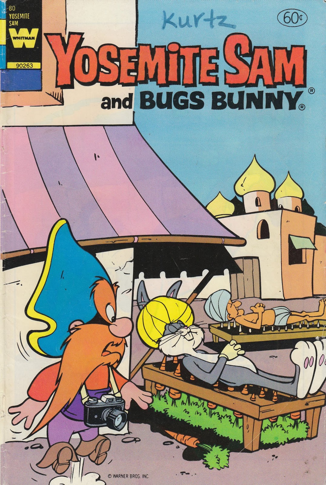 Yosemite Sam and Bugs Bunny issue 80 - Page 1