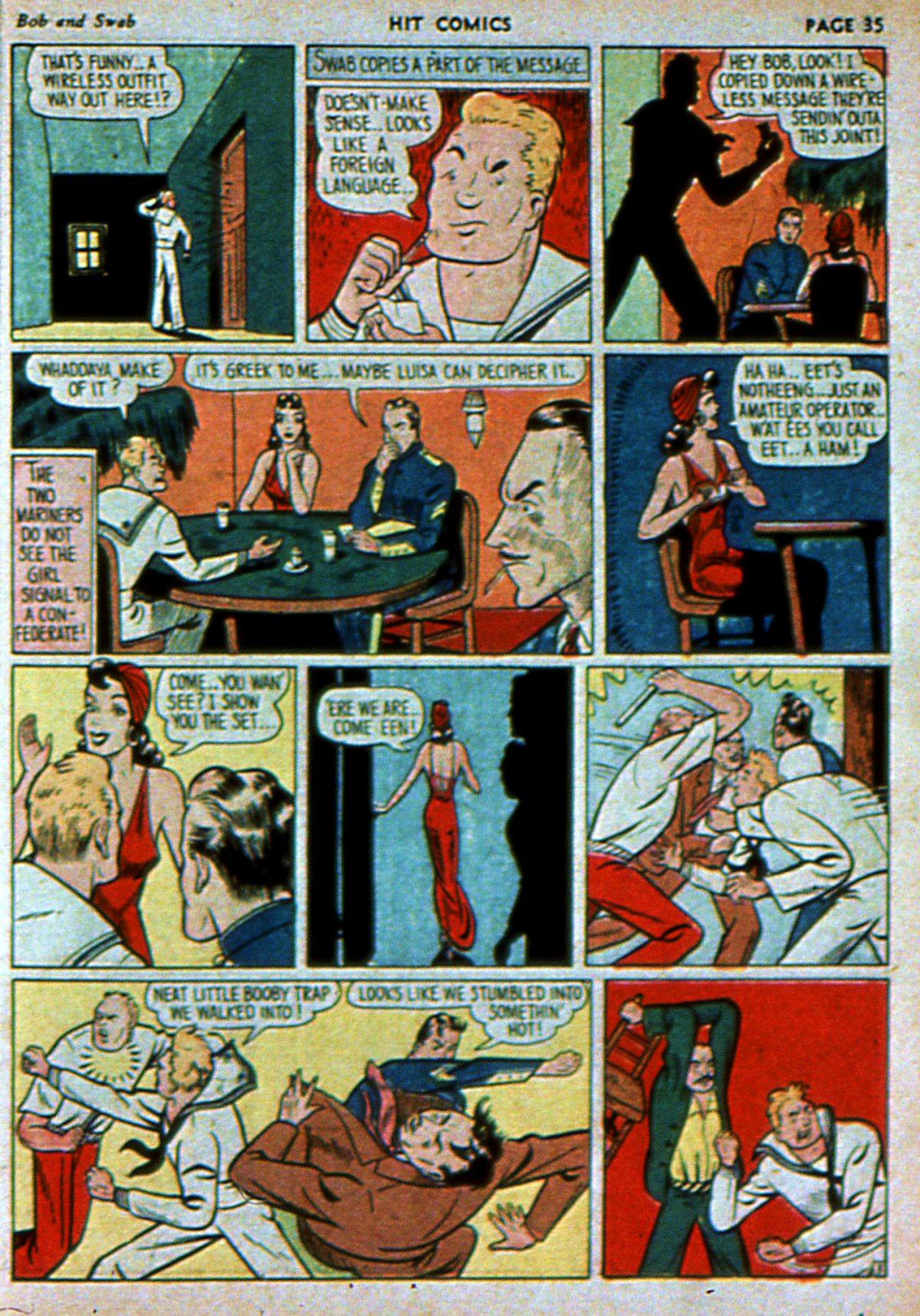 Read online Hit Comics comic -  Issue #3 - 37
