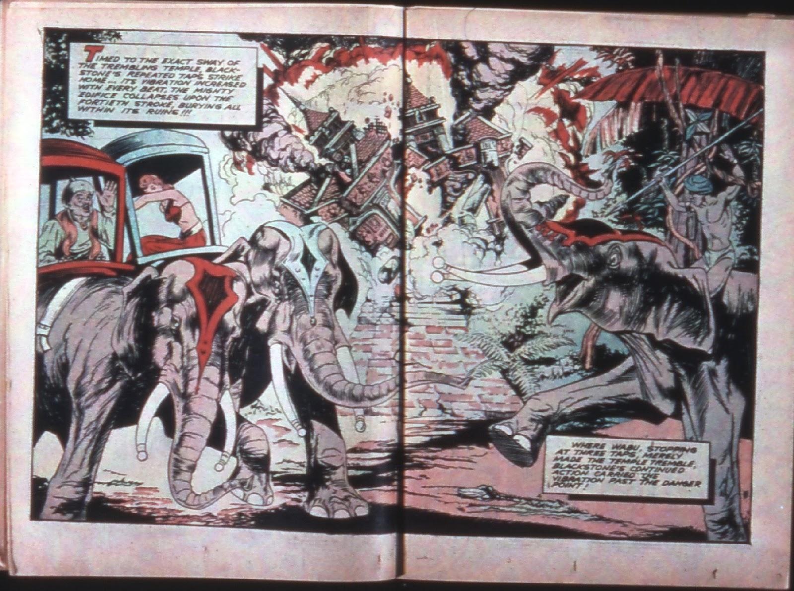 Read online Super-Magician Comics comic -  Issue #7 - 34