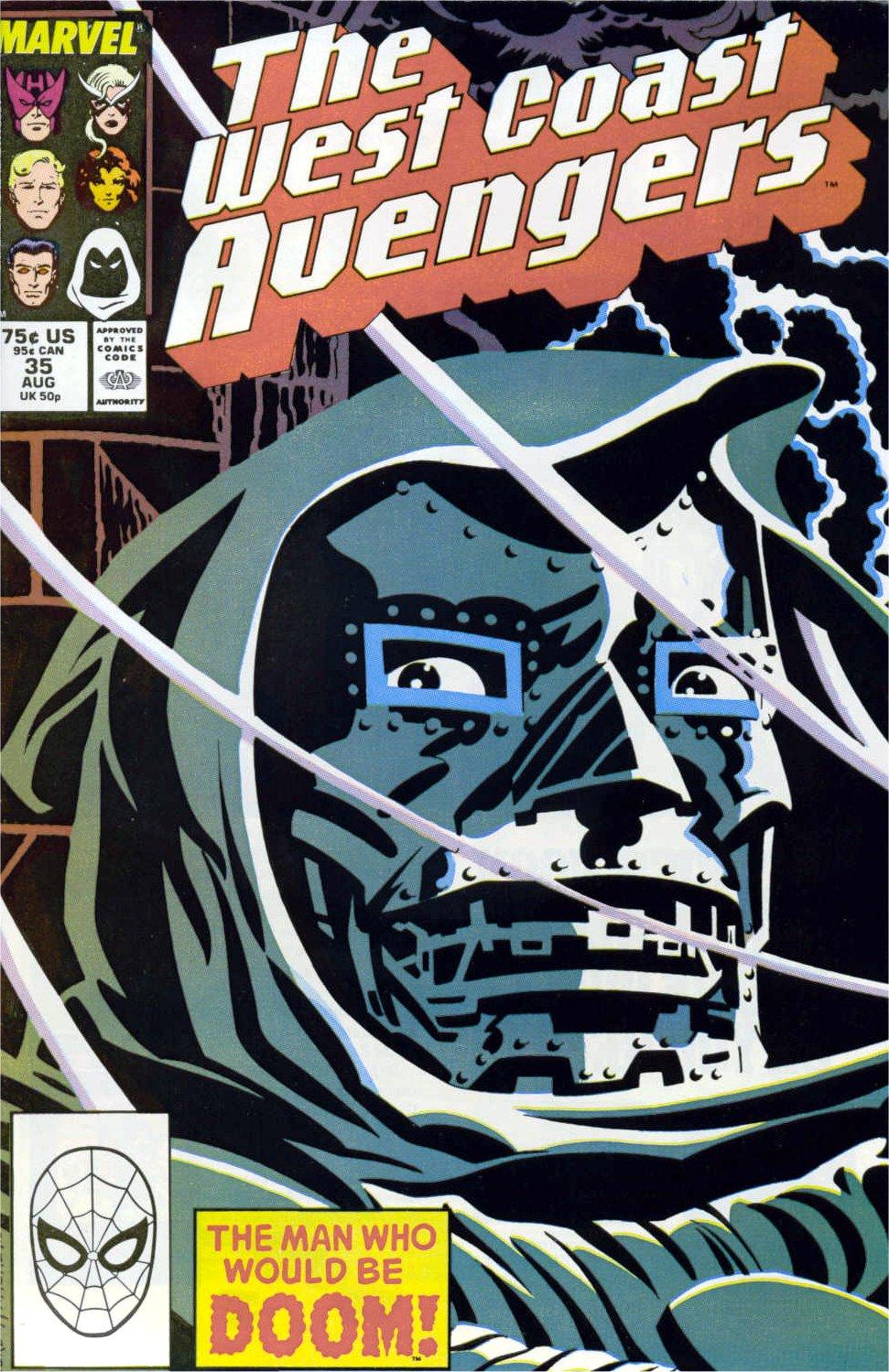 West Coast Avengers (1985) 35 Page 1