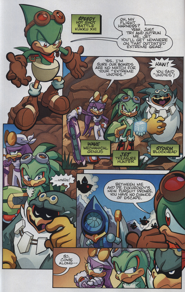 Read online Sonic Universe comic -  Issue #34 - 4