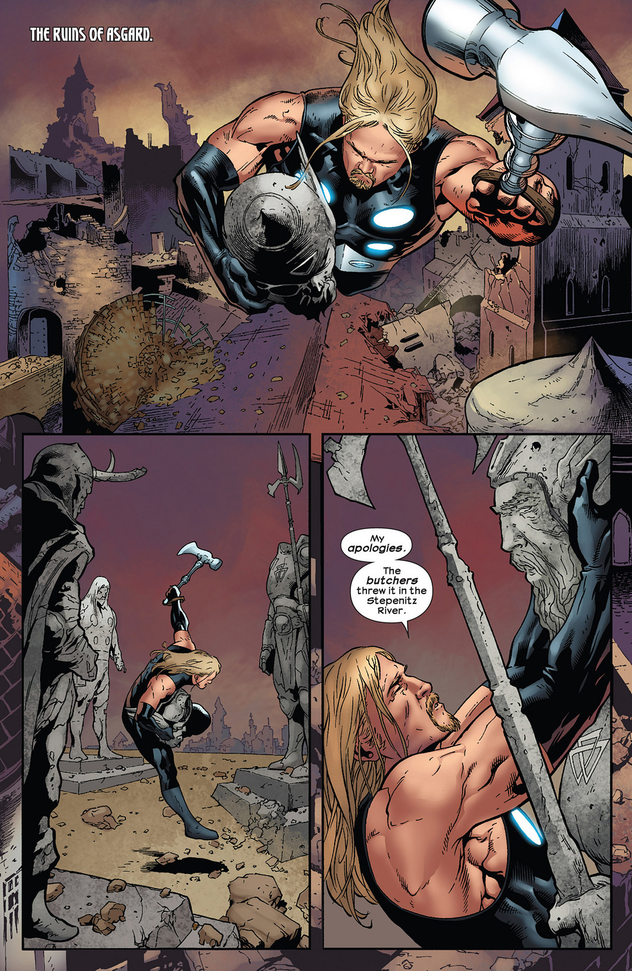 Read online Ultimate Comics Ultimates comic -  Issue #13 - 13