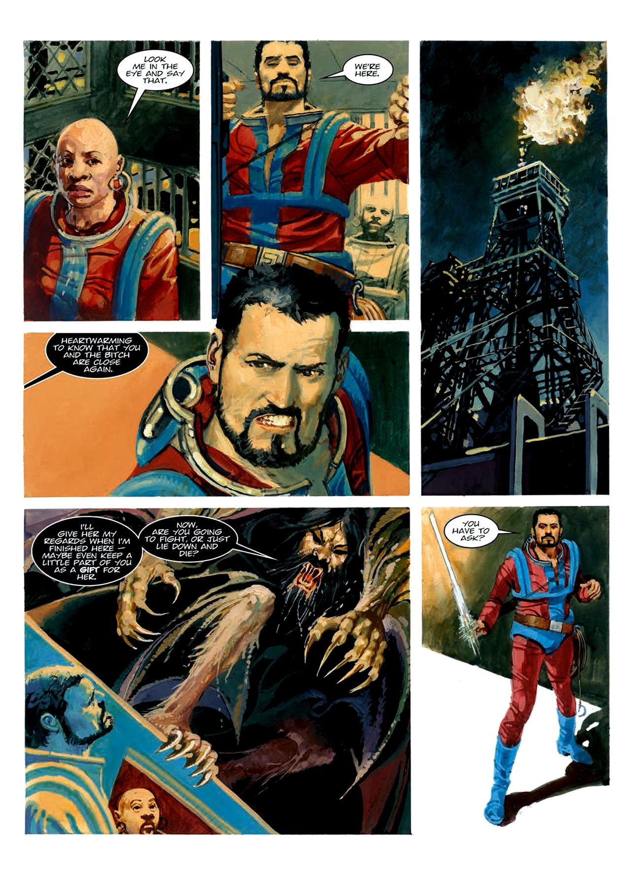 Read online Nikolai Dante comic -  Issue # TPB 6 - 195
