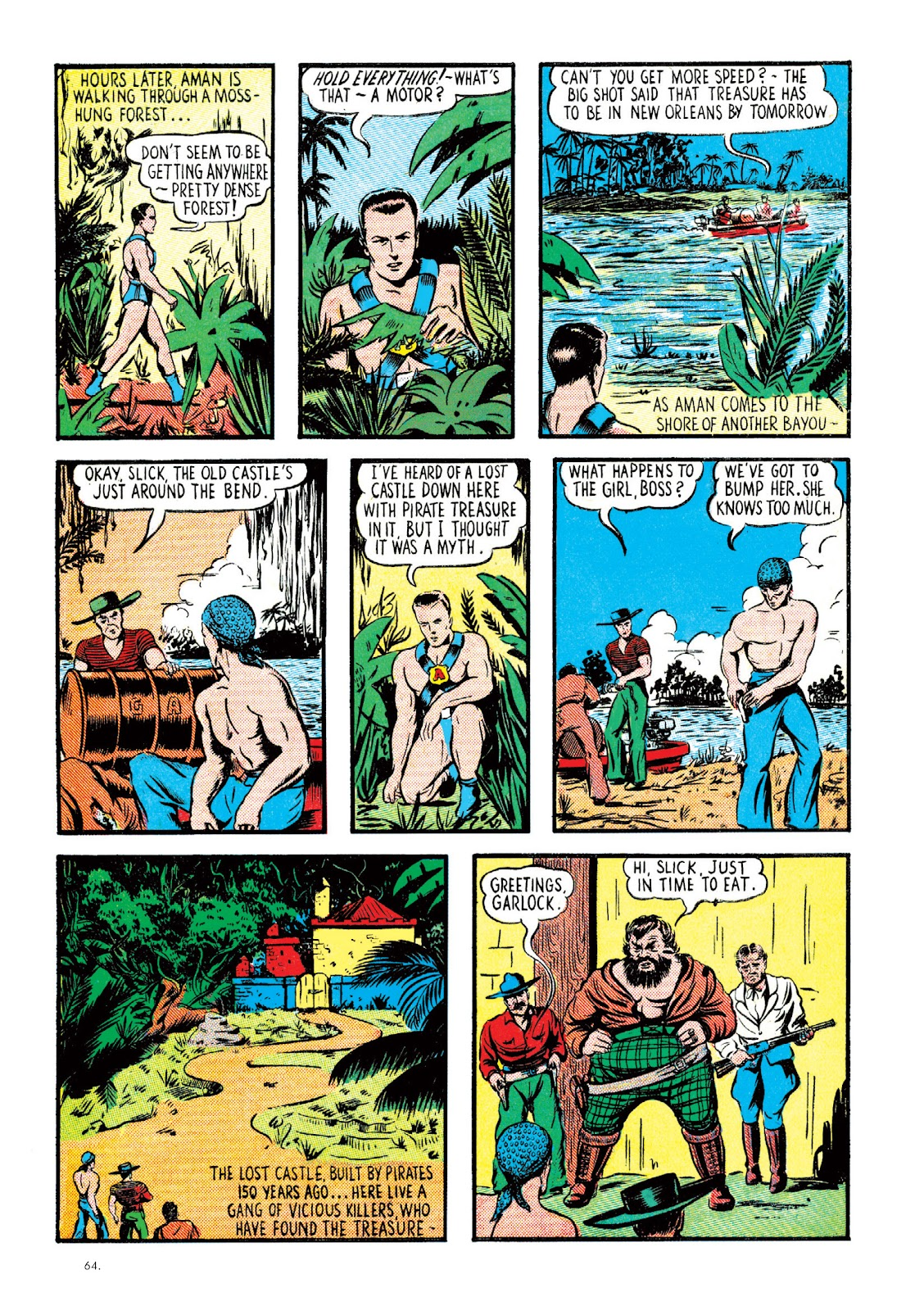 Read online The Bill Everett Archives comic -  Issue # TPB 2 (Part 1) - 65