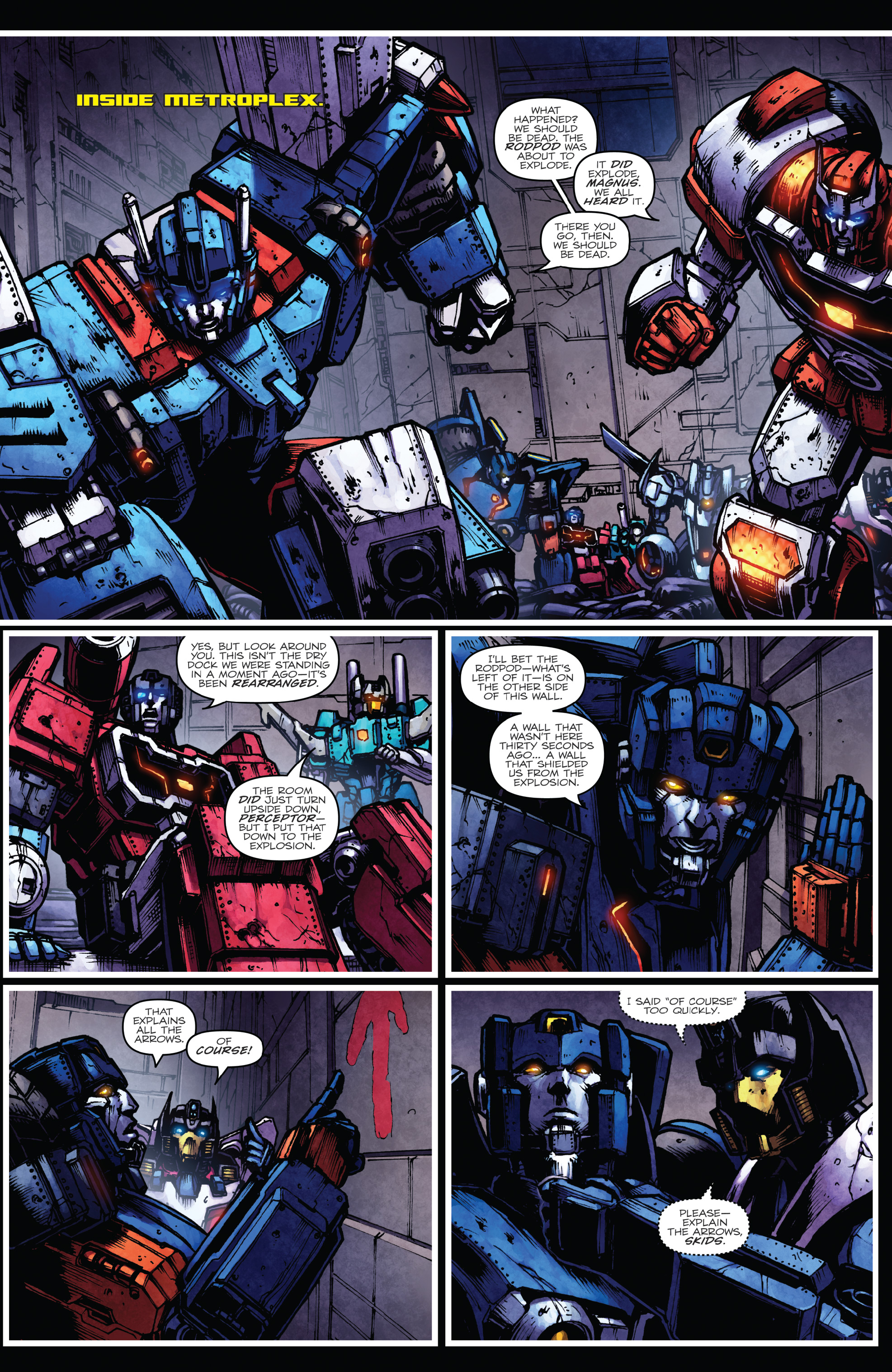 Read online The Transformers: Dark Cybertron Finale comic -  Issue # Full - 9