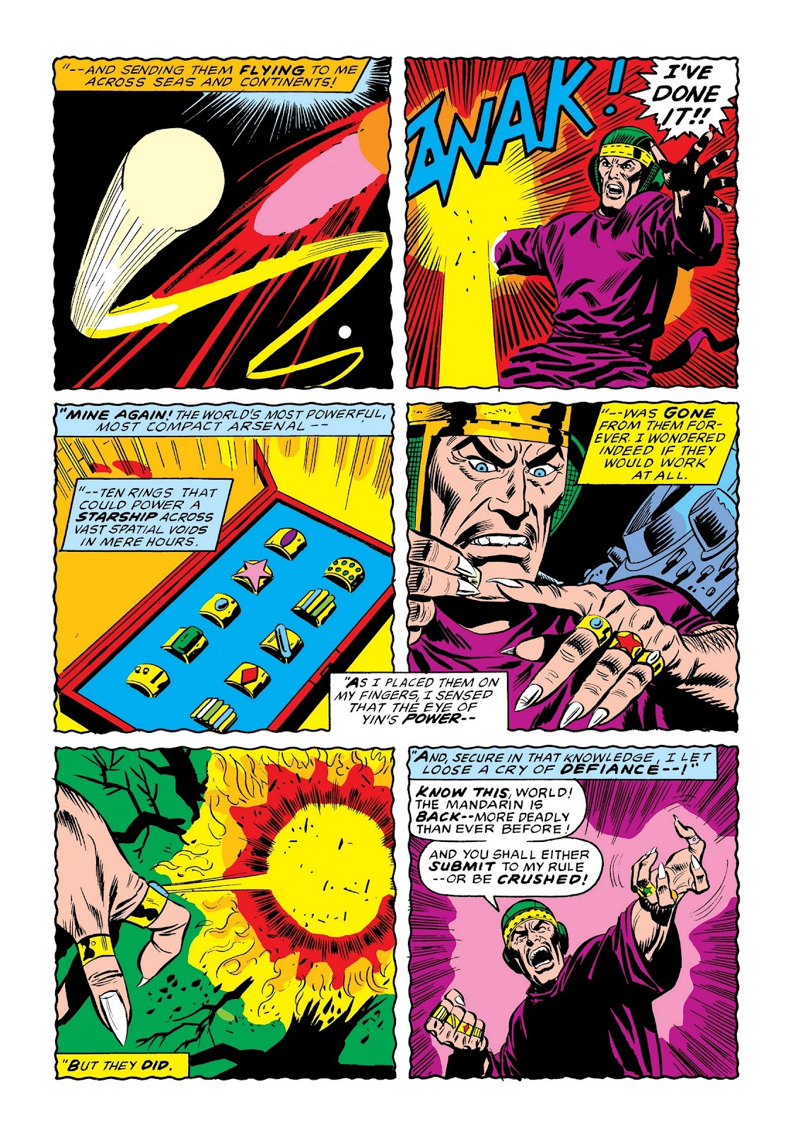 Read online Marvel Masterworks: The Invincible Iron Man comic -  Issue # TPB 9 (Part 1) - 83