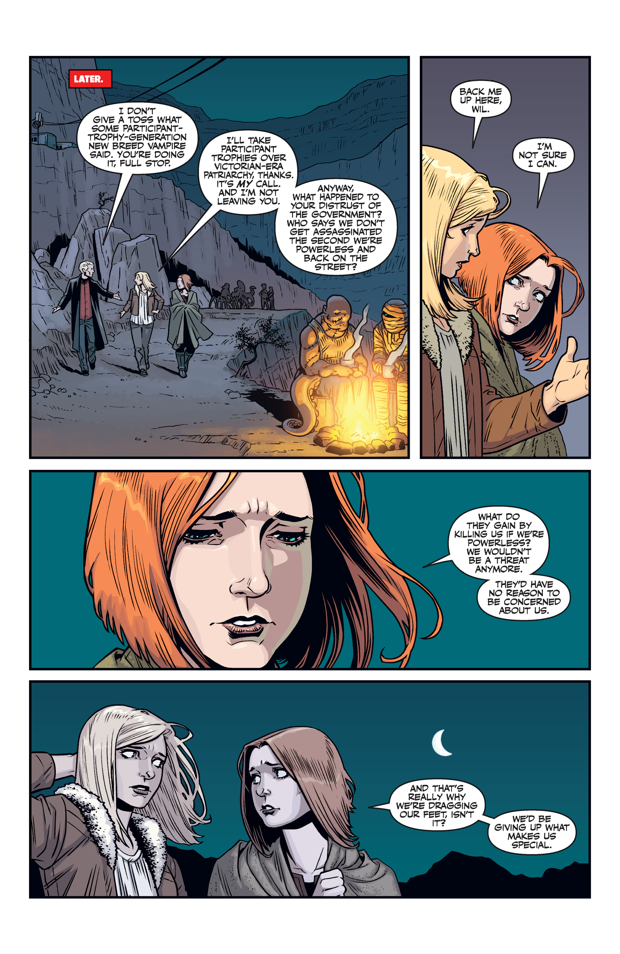 Read online Buffy the Vampire Slayer Season 11 comic -  Issue #7 - 17