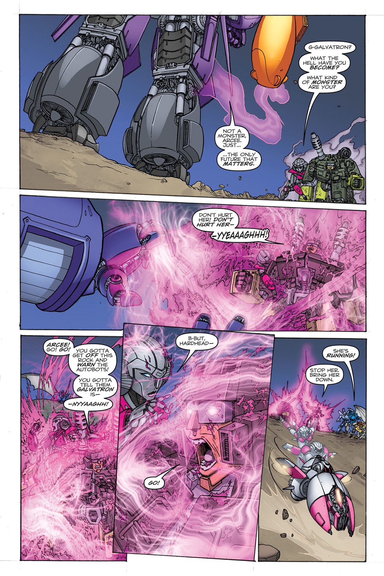 Read online Transformers: Heart of Darkness comic -  Issue #2 - 10