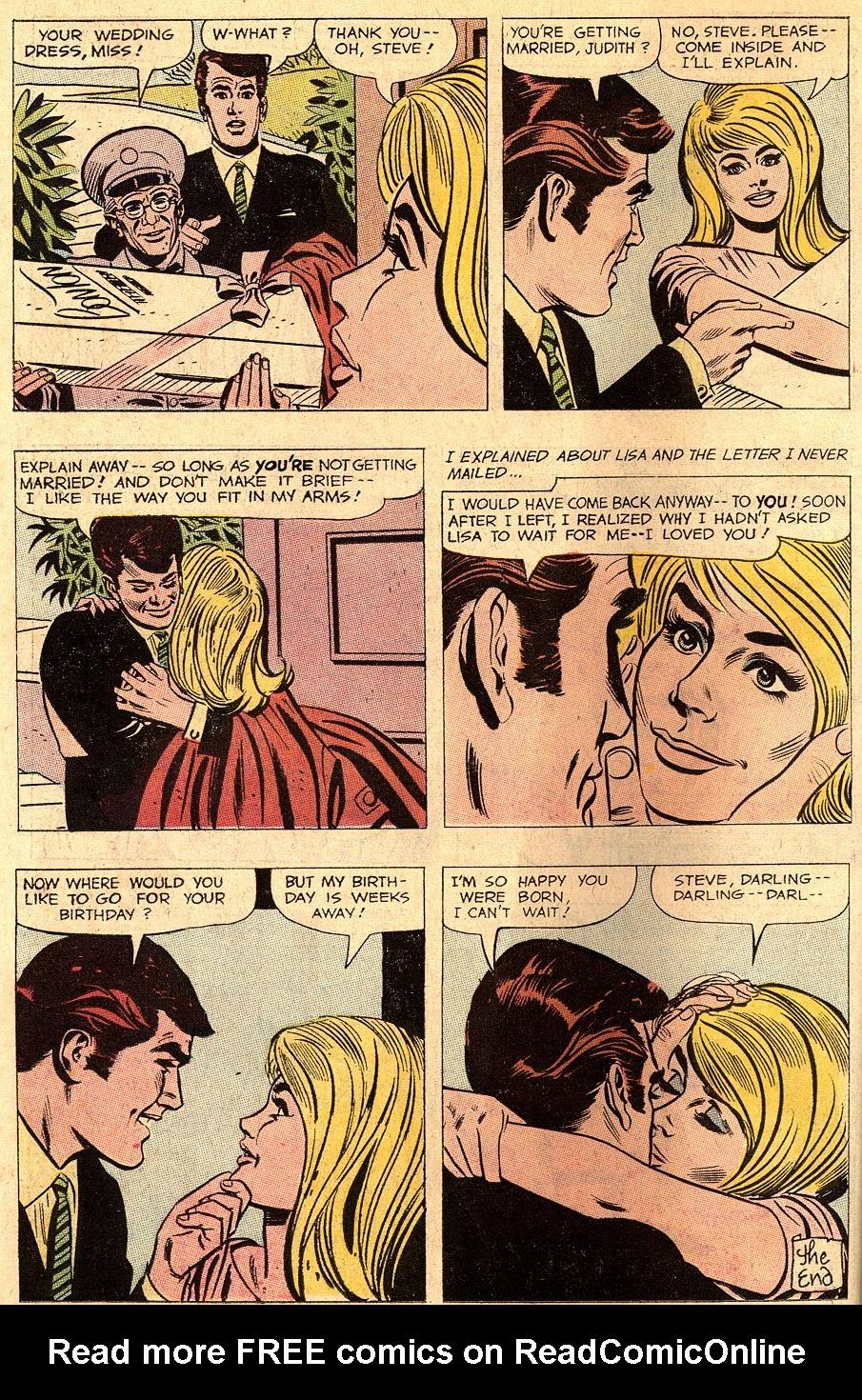 Read online Secret Hearts comic -  Issue #150 - 22