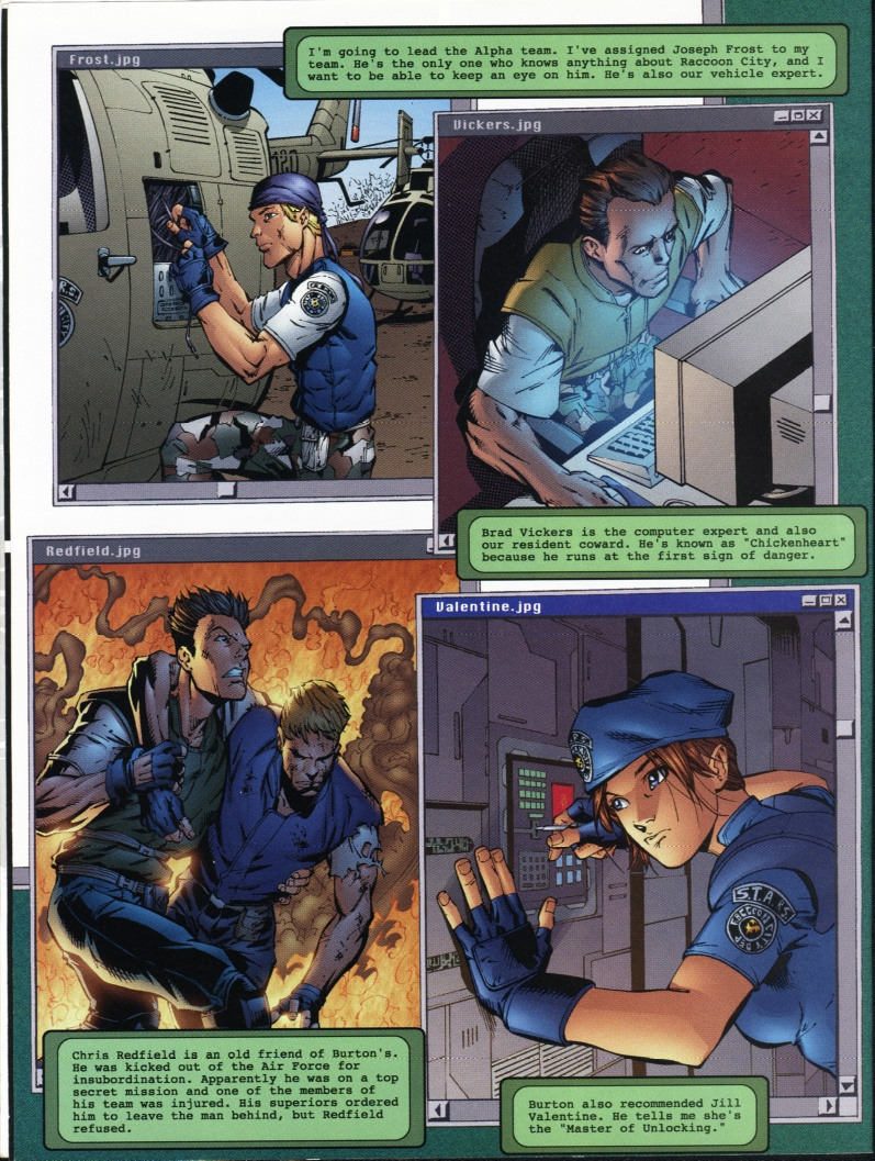 Resident Evil (1998) Issue #1 #1 - English 6