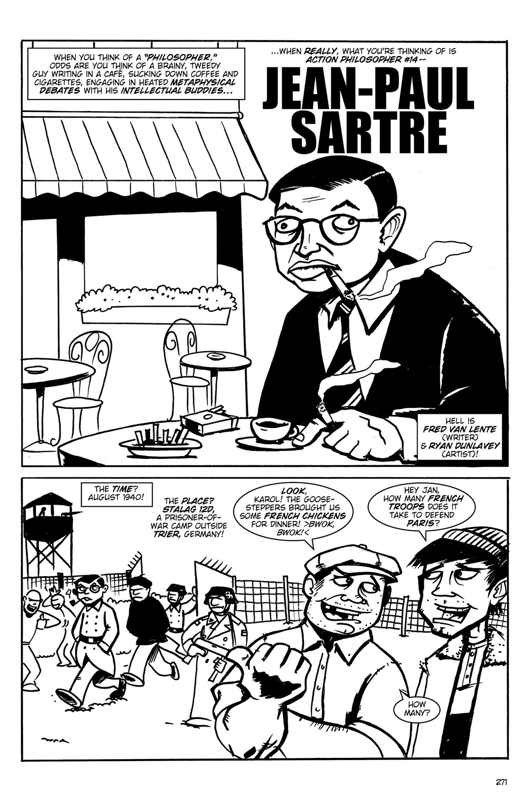 Read online Action Philosophers! comic -  Issue #Action Philosophers! TPB (Part 2) - 99