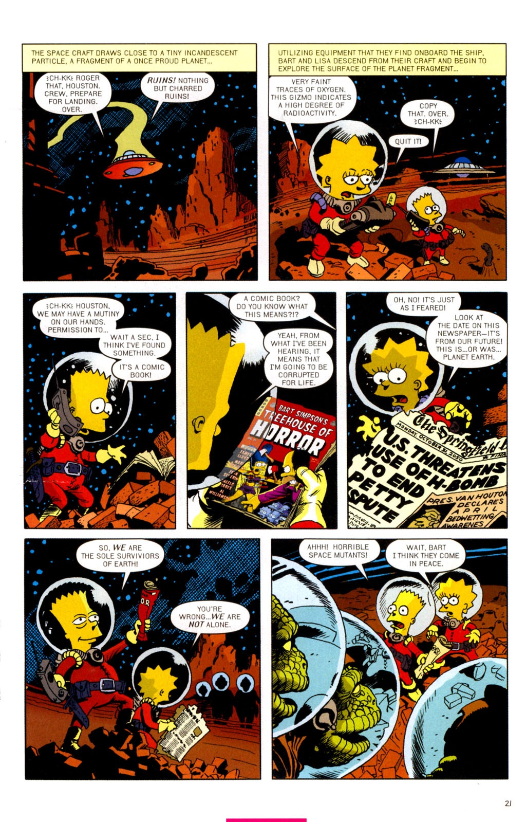 Read online Treehouse of Horror comic -  Issue #11 - 52