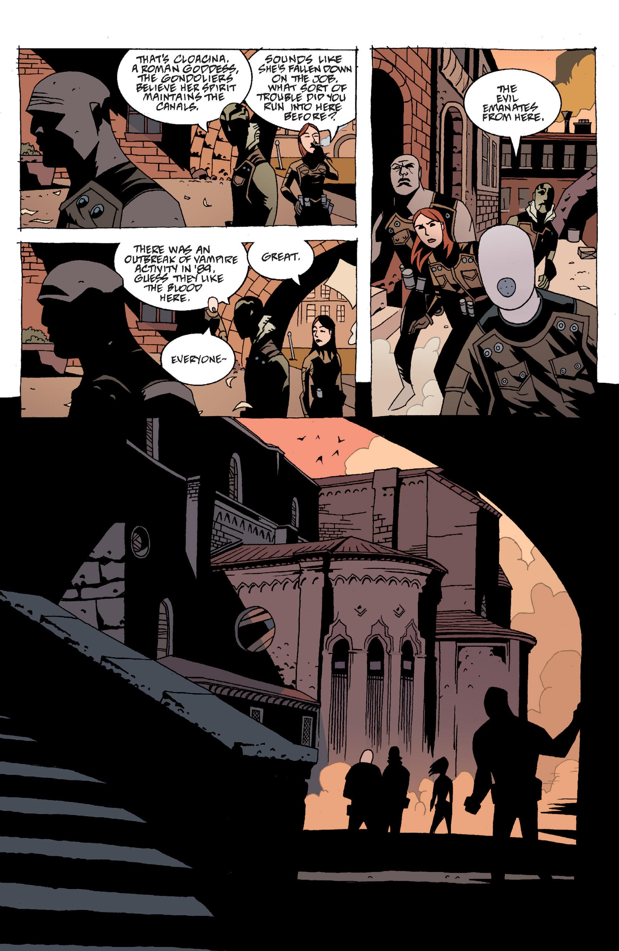 Read online B.P.R.D. (2003) comic -  Issue # TPB 2 - 13