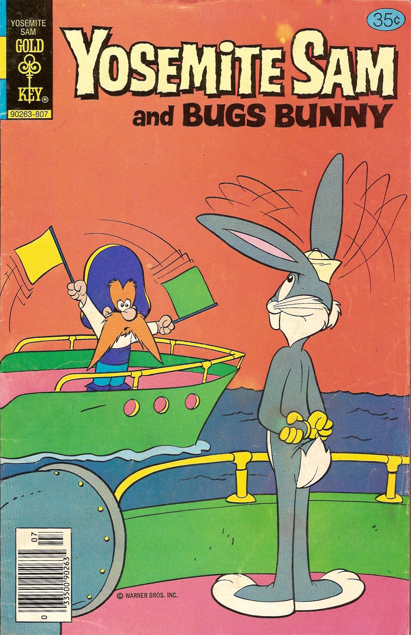 Yosemite Sam and Bugs Bunny 53 Page 1