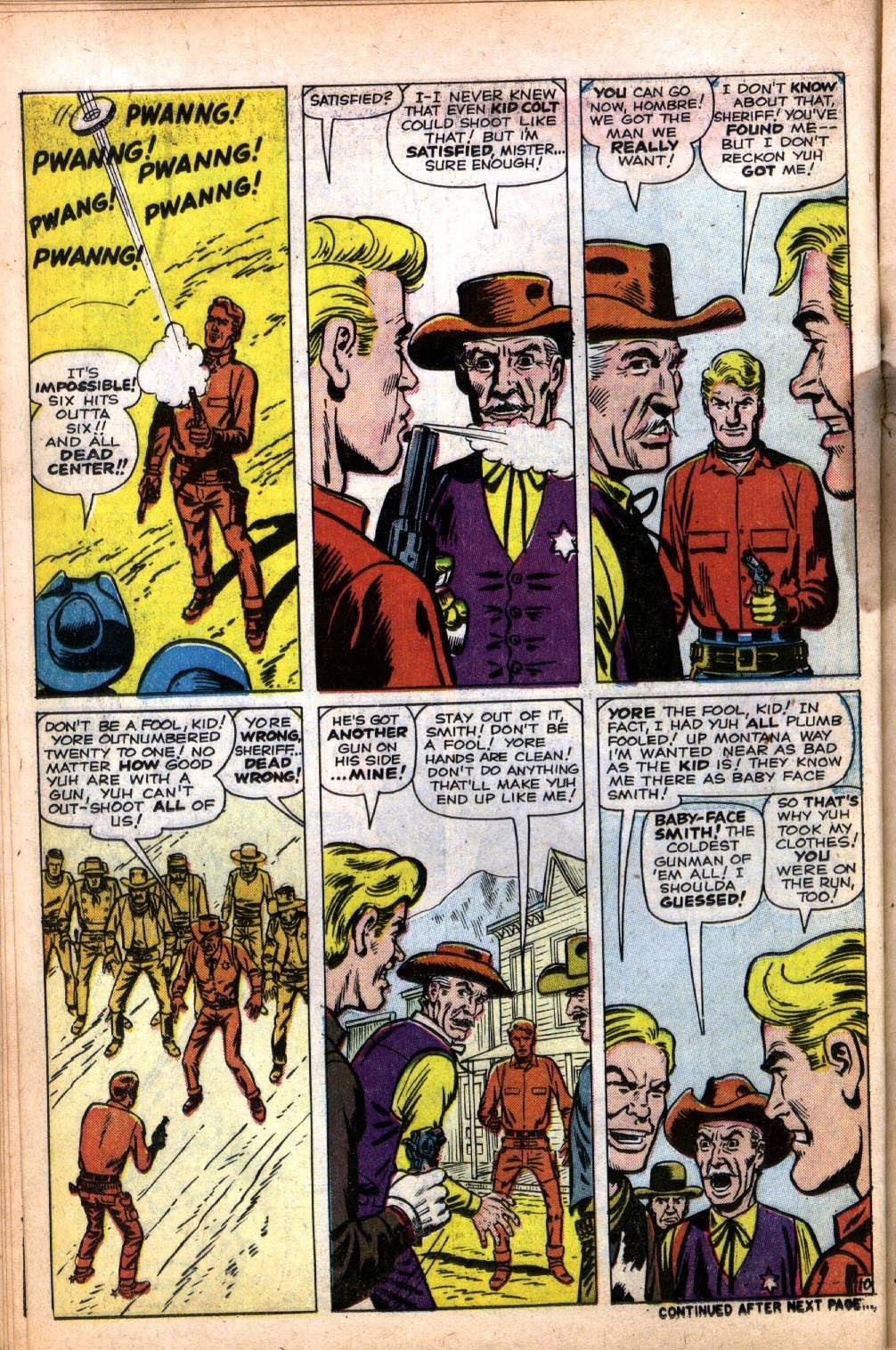 Gunsmoke Western issue 64 - Page 14