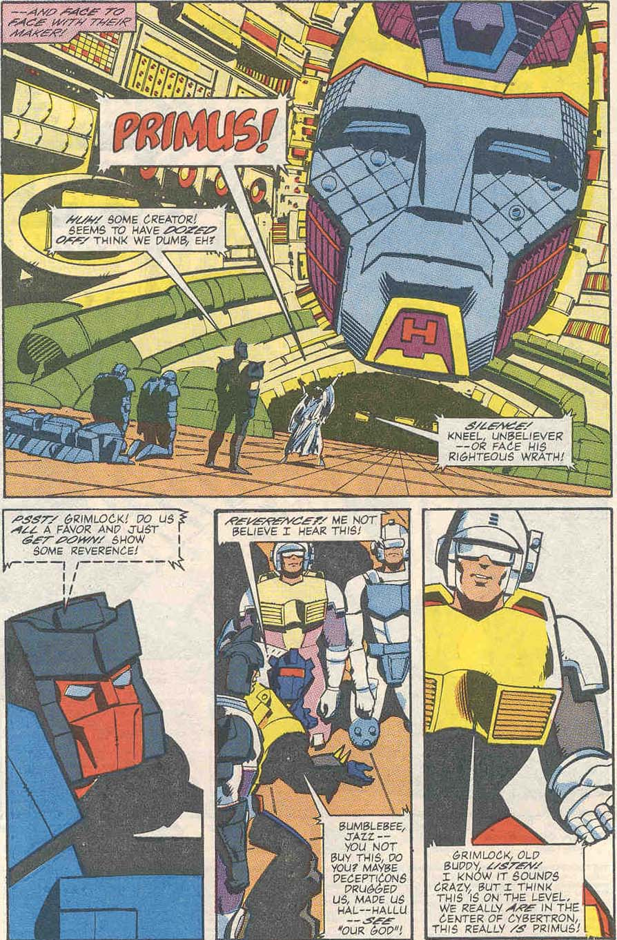 The Transformers (UK) 259 Page 3