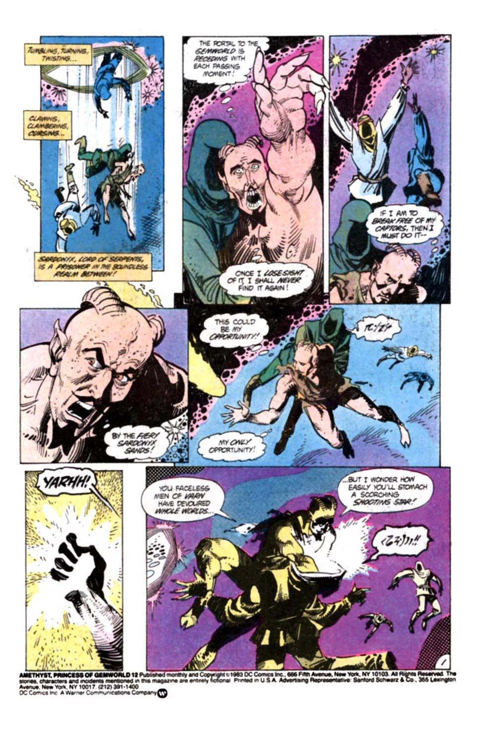 Read online Amethyst, Princess of Gemworld comic -  Issue #12 - 2