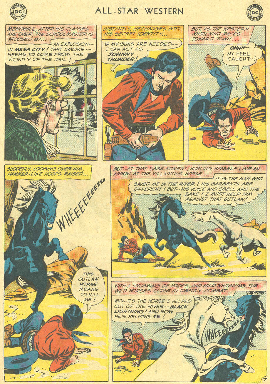 Read online All-Star Western (1951) comic -  Issue #113 - 9