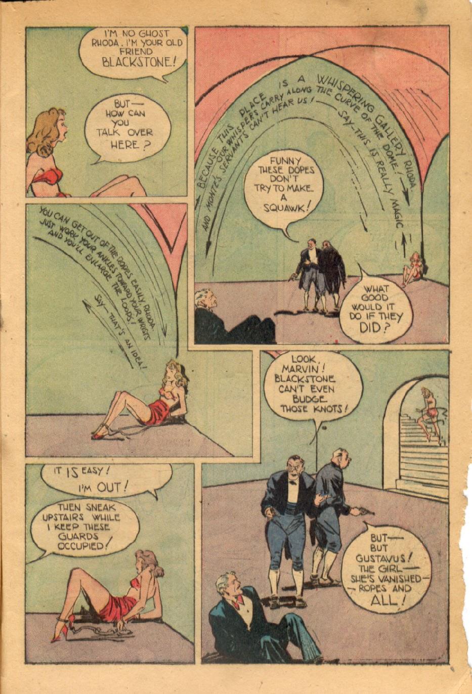 Read online Super-Magician Comics comic -  Issue #43 - 47