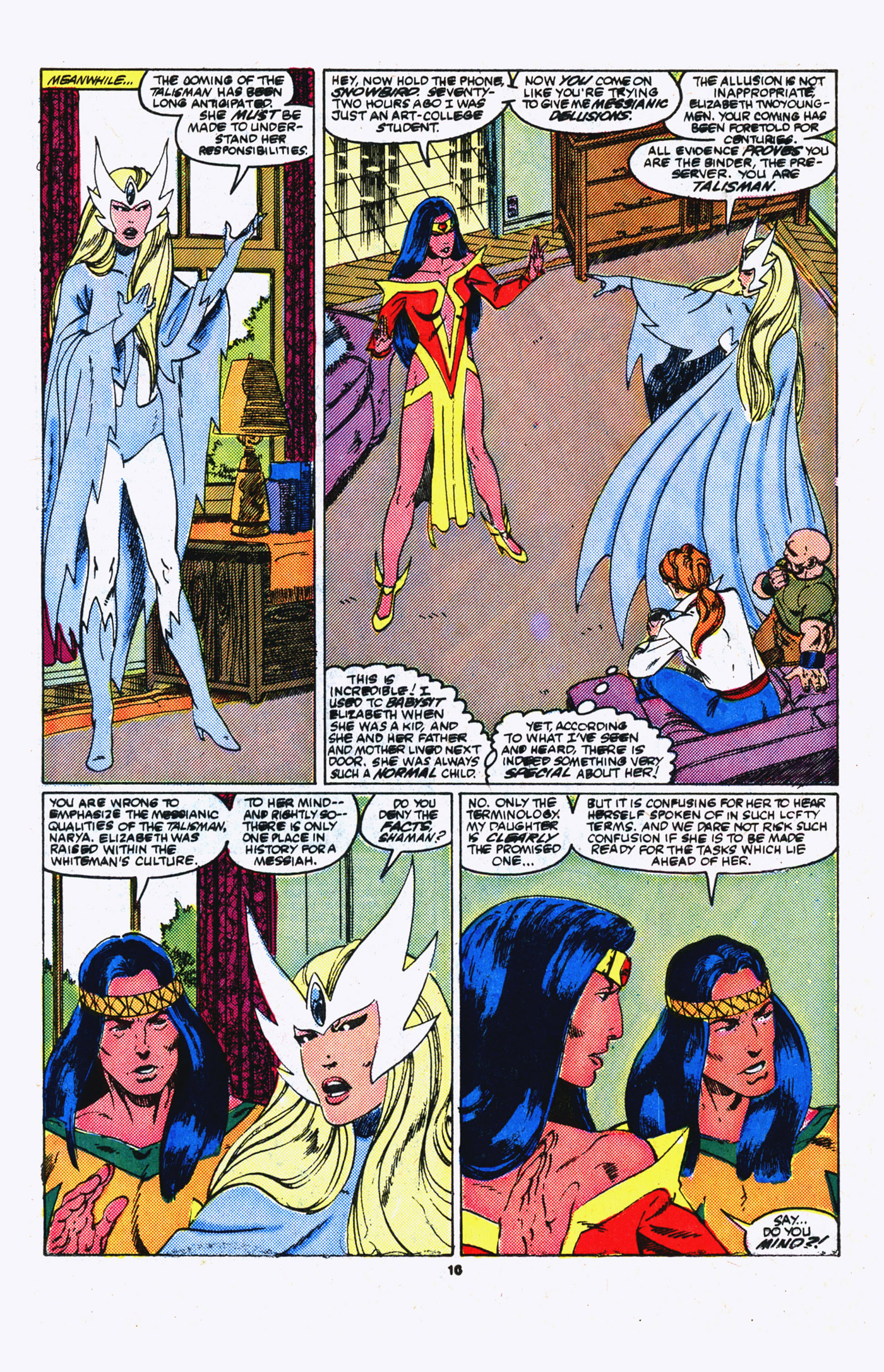 Read online Alpha Flight (1983) comic -  Issue #20 - 10