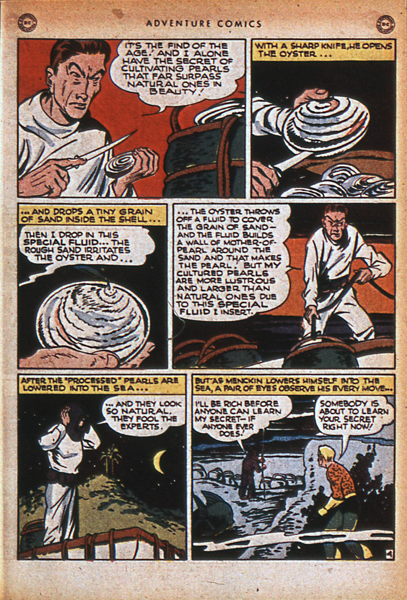 Read online Adventure Comics (1938) comic -  Issue #116 - 34