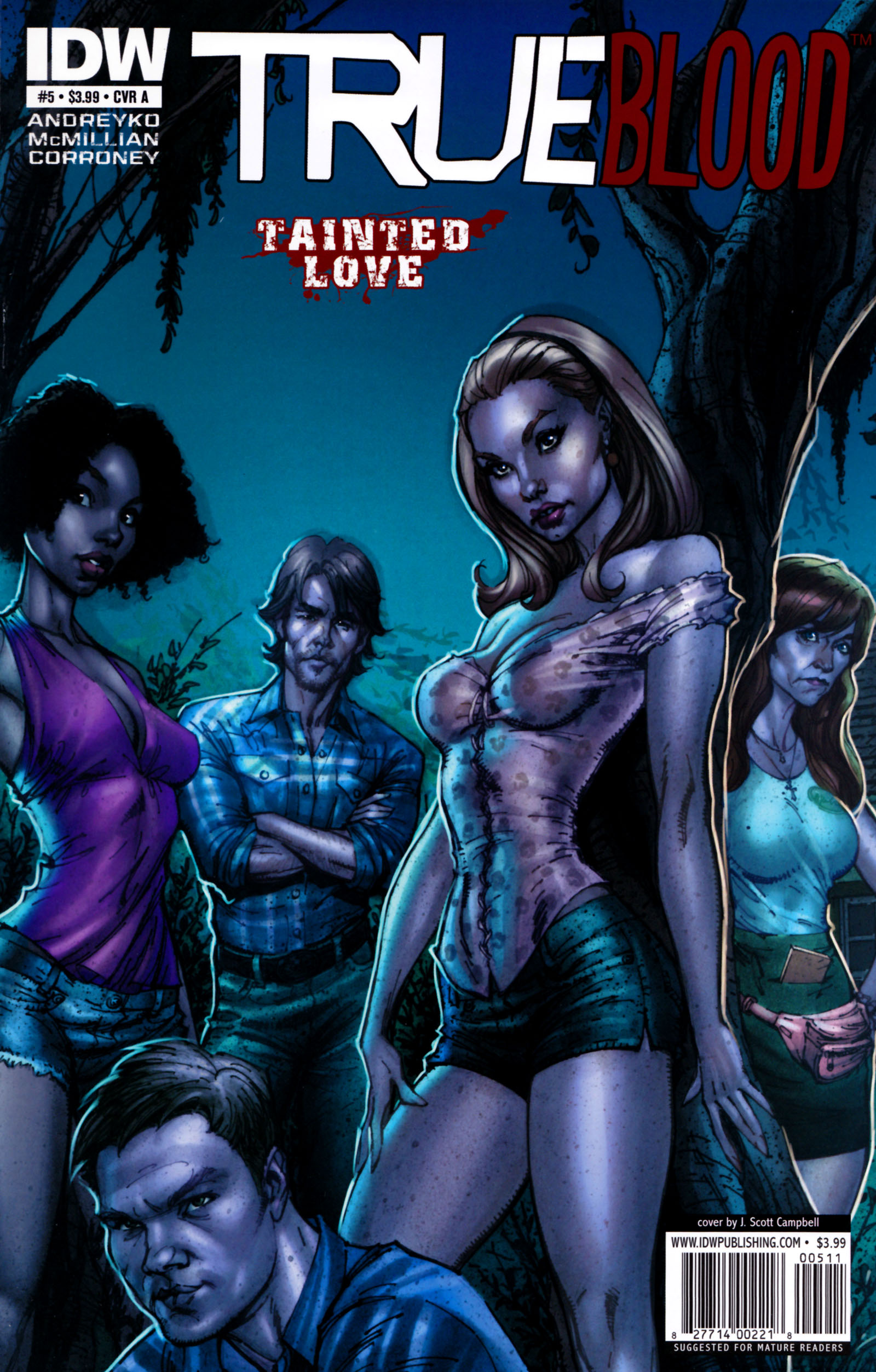 Read online True Blood: Tainted Love comic -  Issue #5 - 1