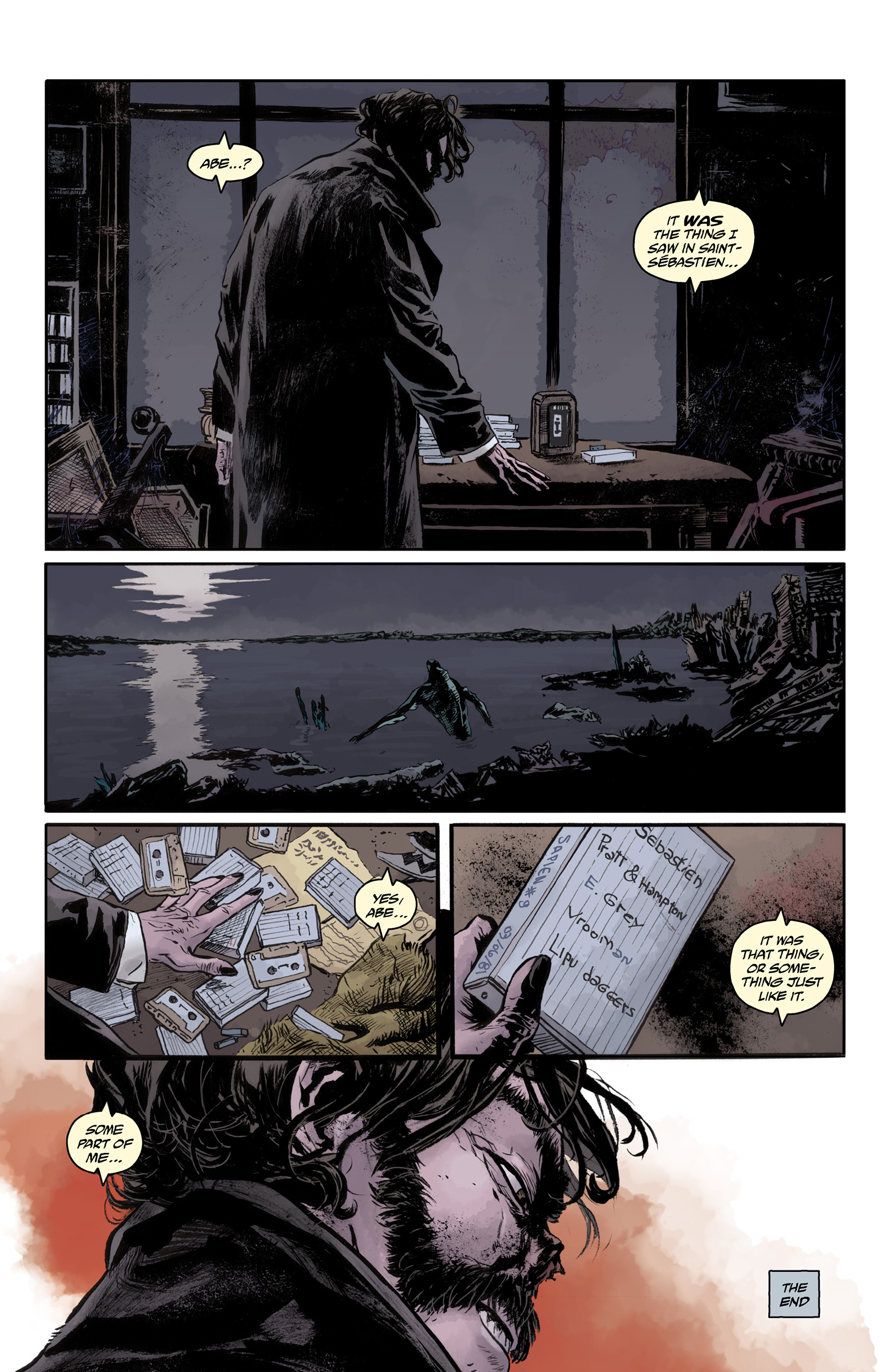 Read online Abe Sapien comic -  Issue #33 - 24