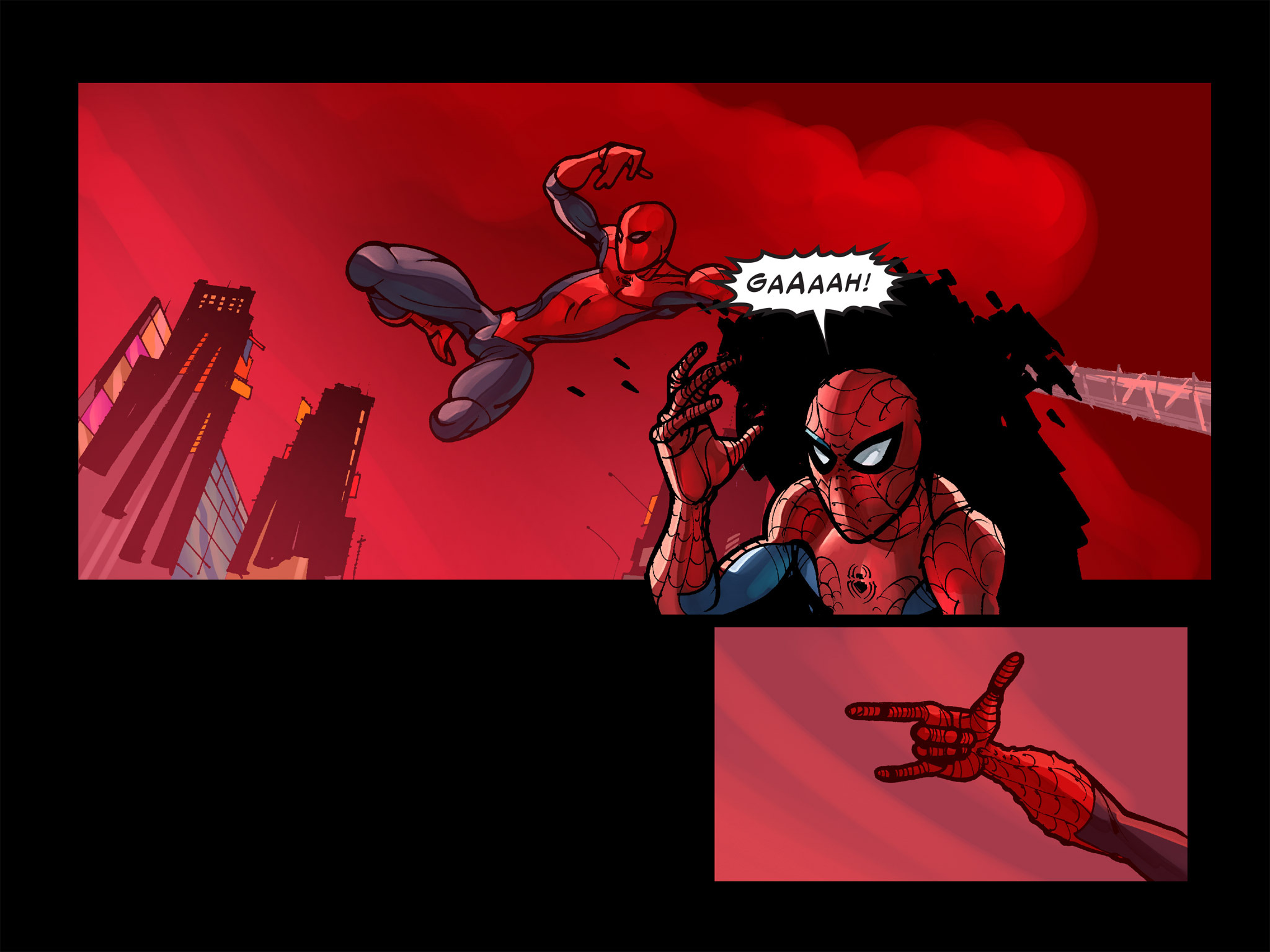 Read online Amazing Spider-Man: Who Am I? comic -  Issue # Full (Part 1) - 203