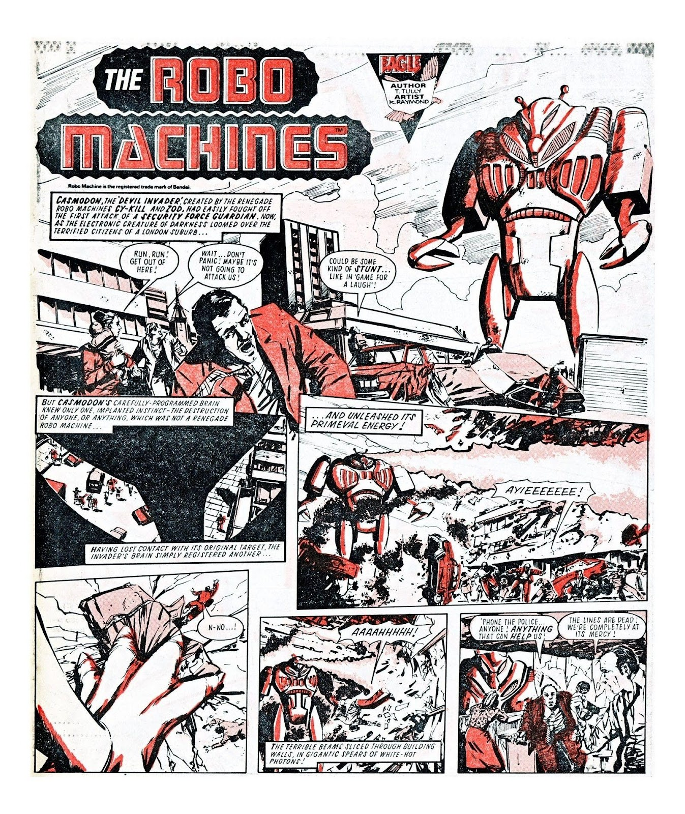 Read online Robo Machines comic -  Issue # TPB - 97