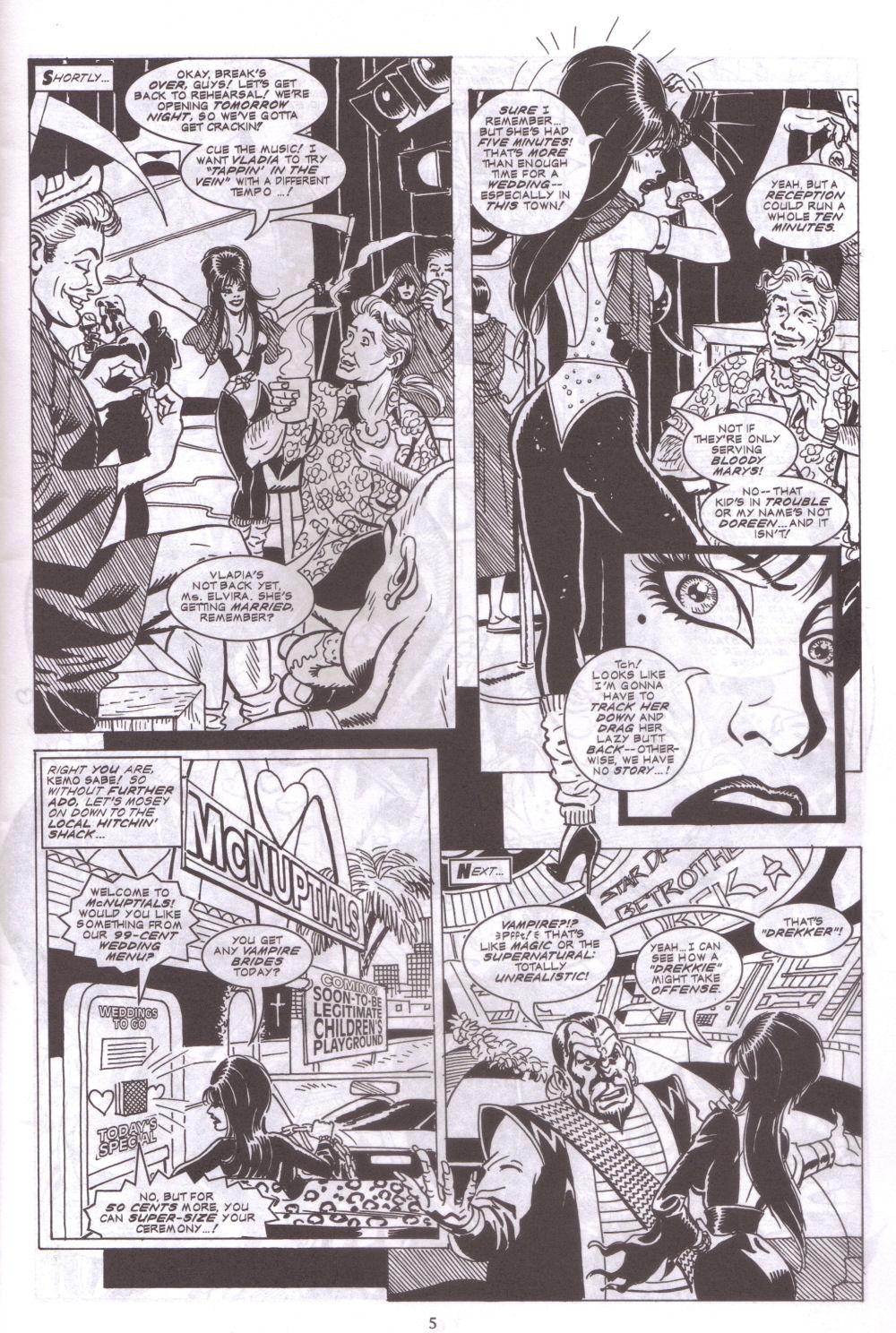 Read online Elvira, Mistress of the Dark comic -  Issue #127 - 7
