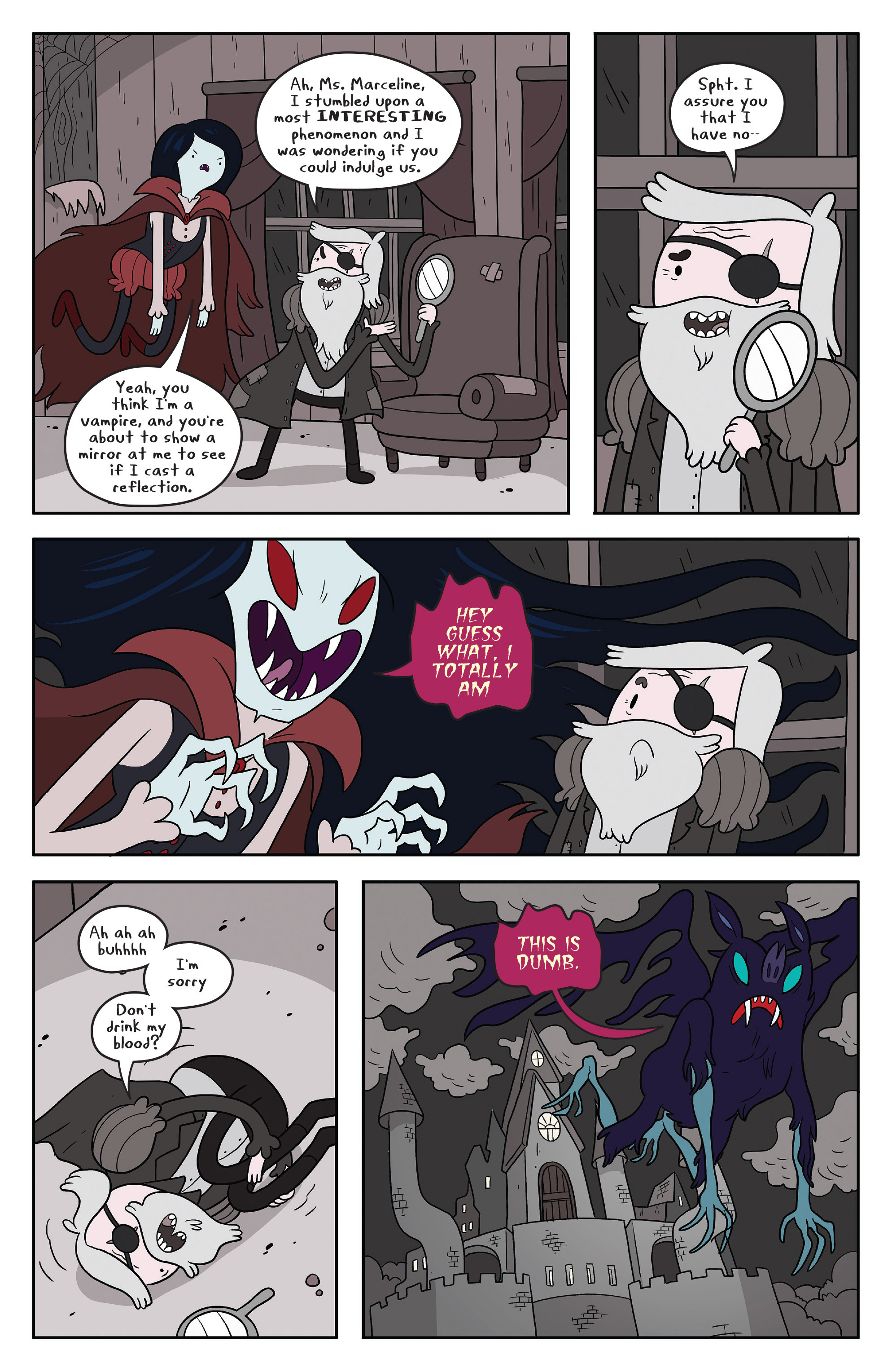 Read online Adventure Time comic -  Issue #55 - 16