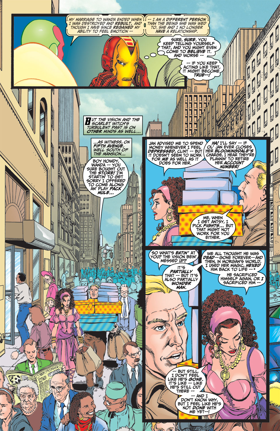 Read online Avengers (1998) comic -  Issue #5 - 6