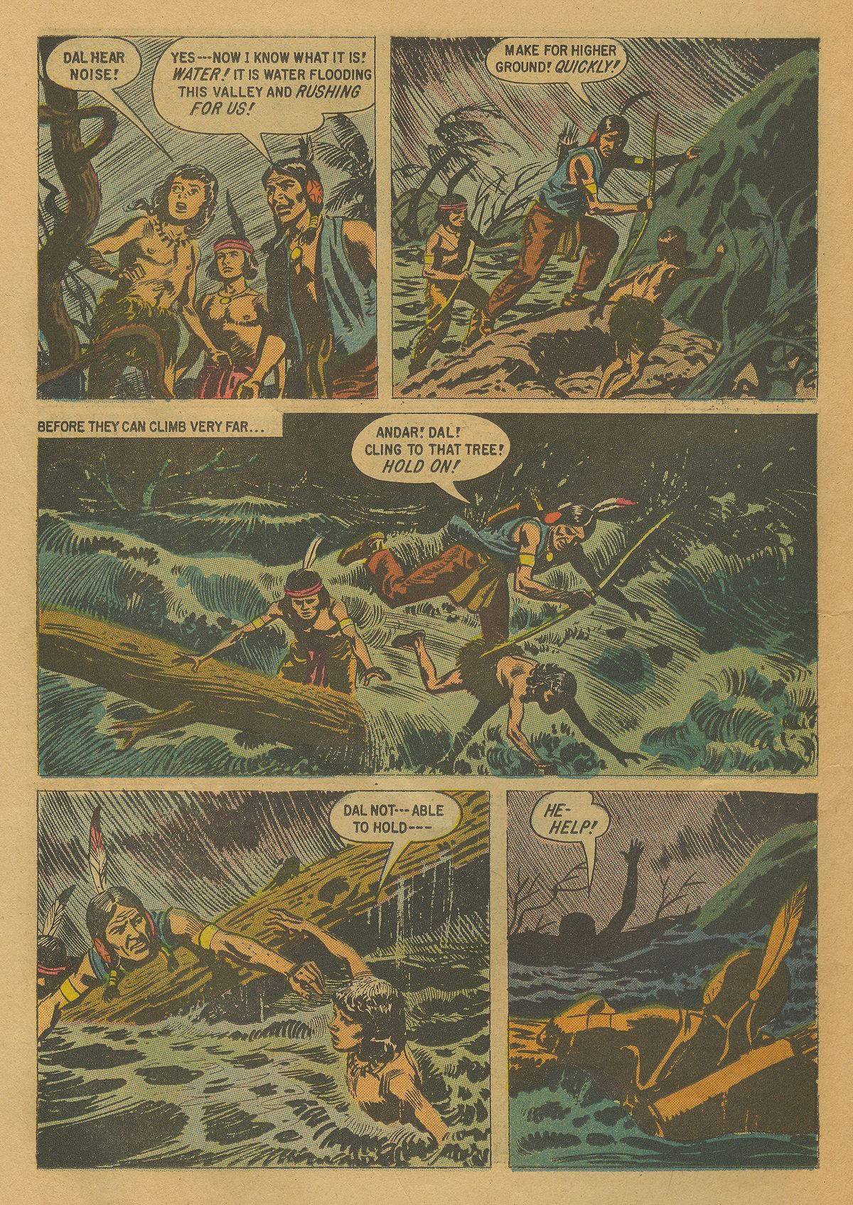 Read online Turok, Son of Stone comic -  Issue #17 - 26
