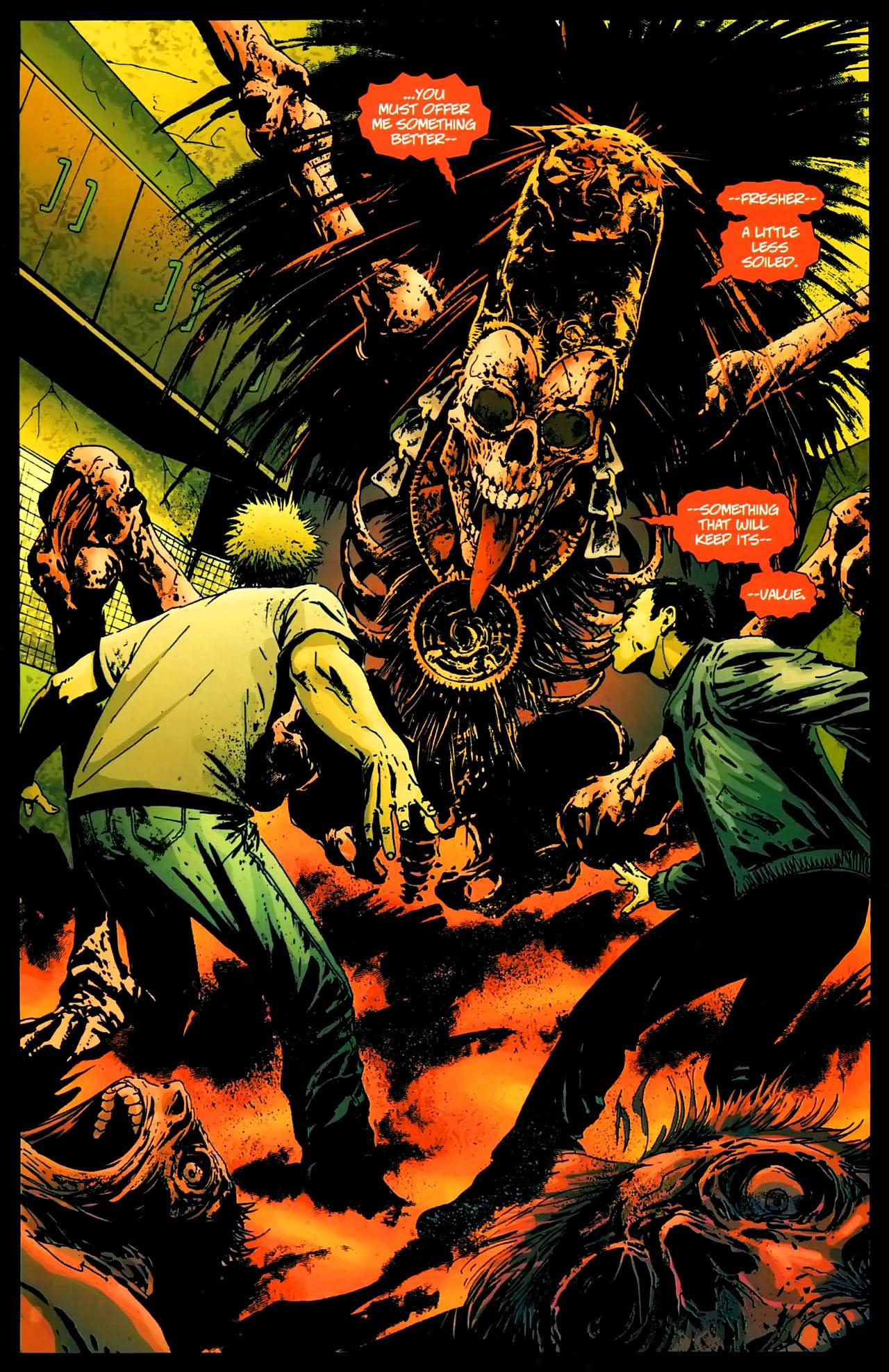 Read online John Constantine Hellblazer: All His Engines comic -  Issue # Full - 24