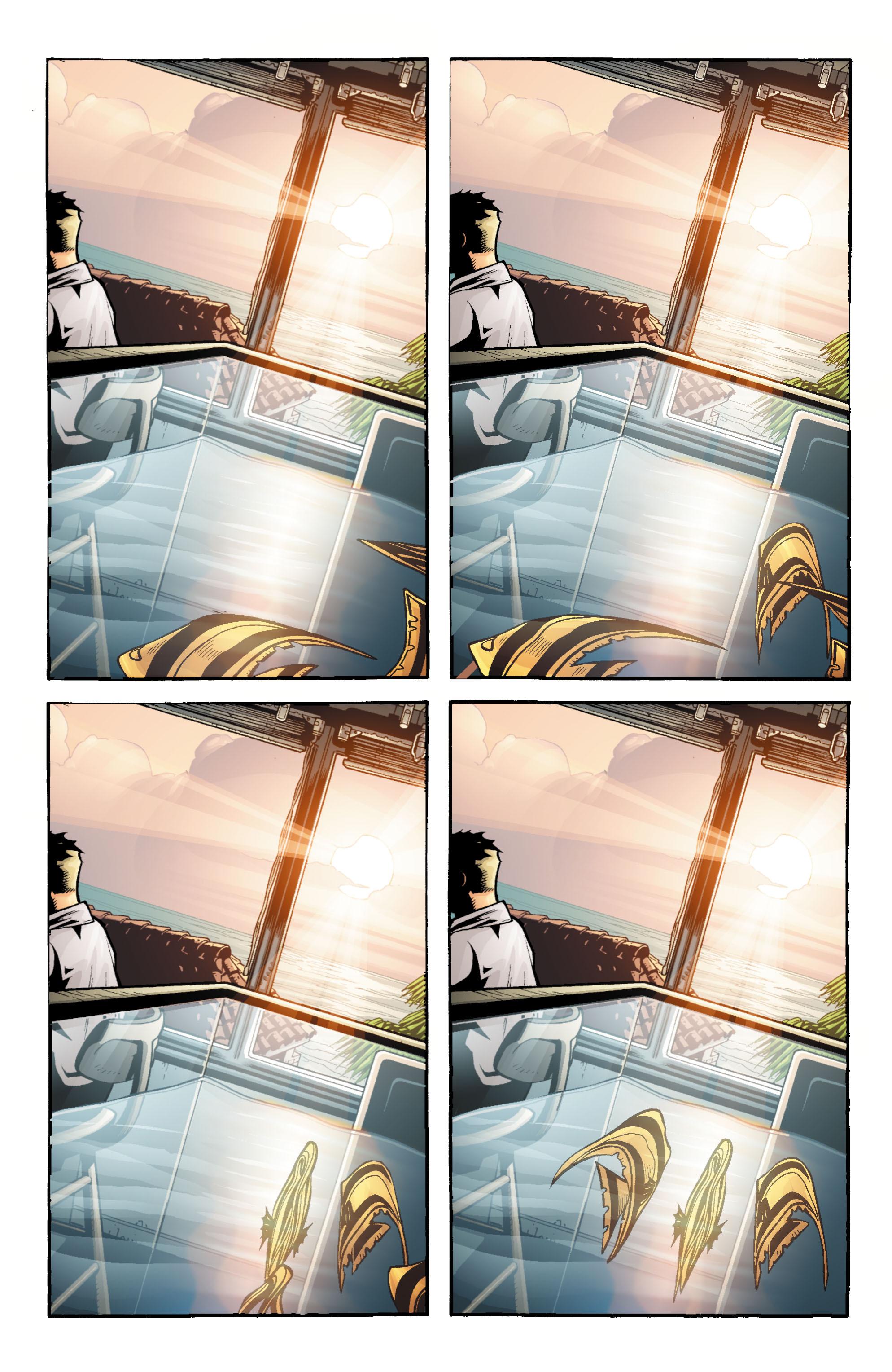 Read online Aquaman (2003) comic -  Issue #18 - 19