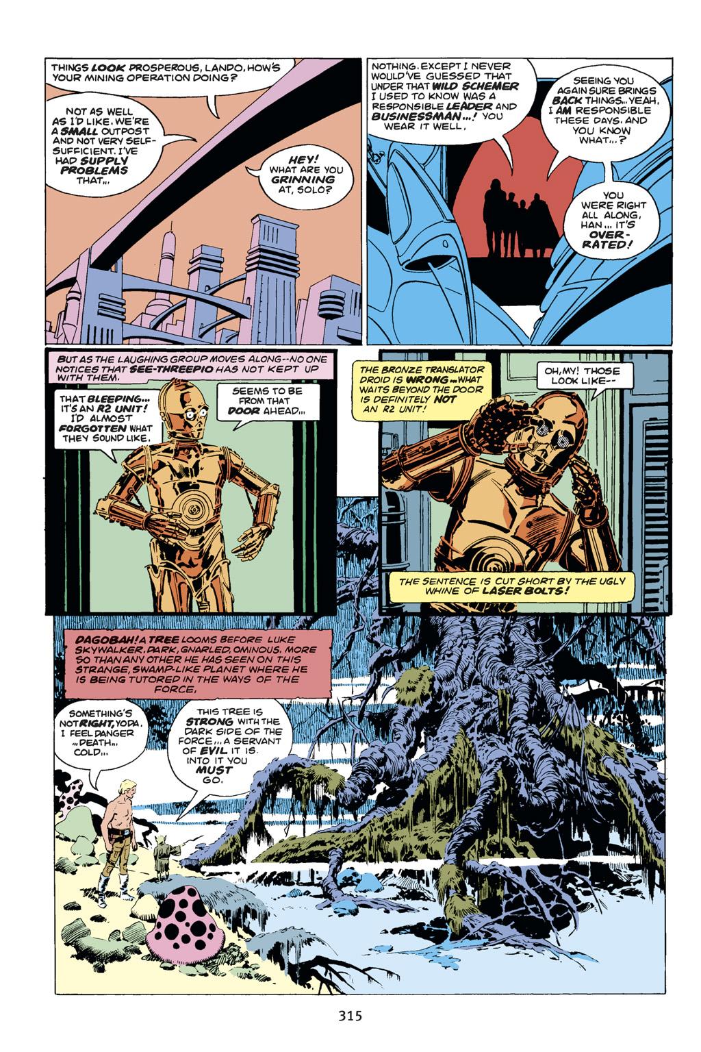 Read online Star Wars Omnibus comic -  Issue # Vol. 14 - 313
