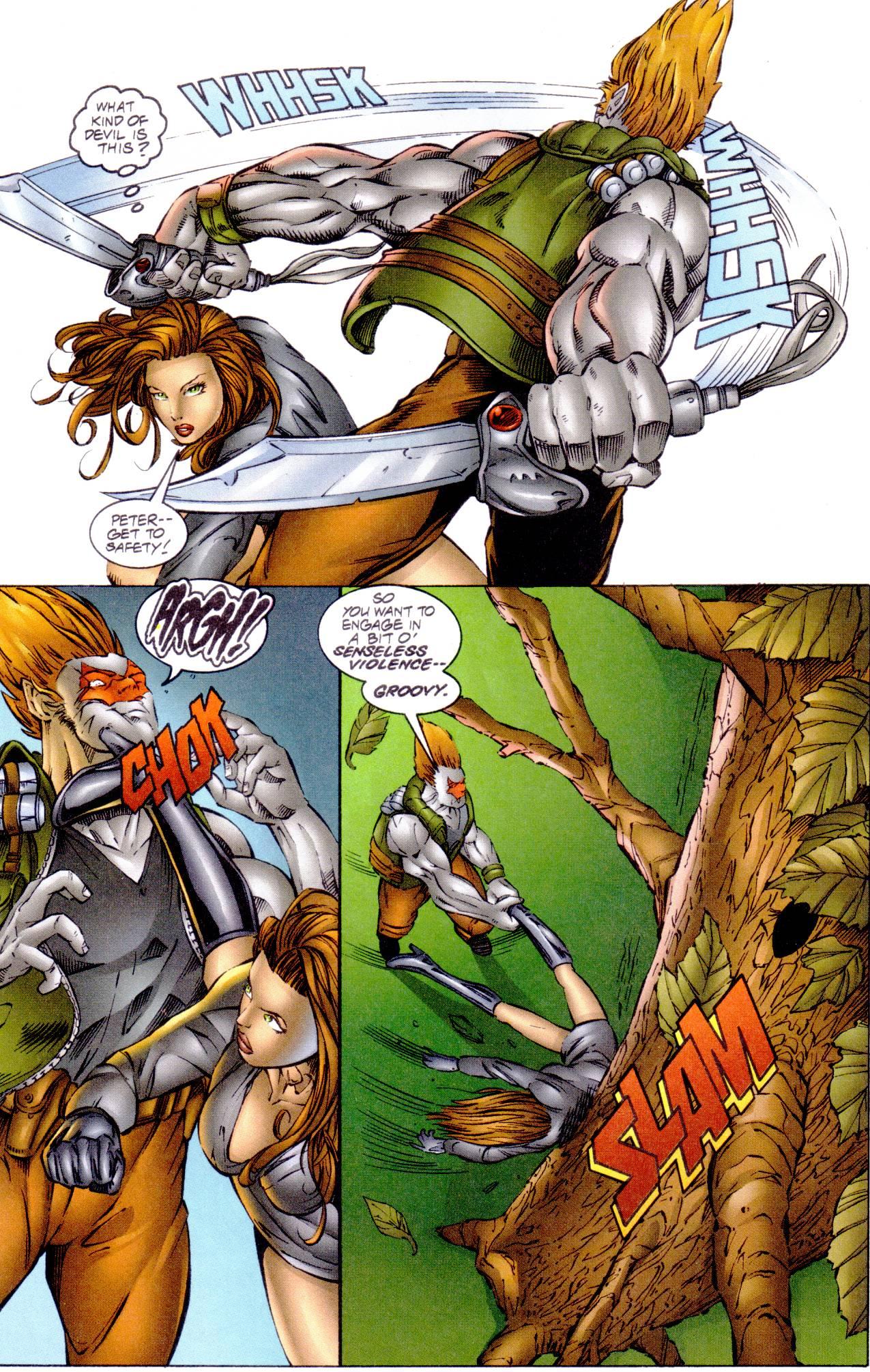Read online Avengelyne (1996) comic -  Issue #14 - 9