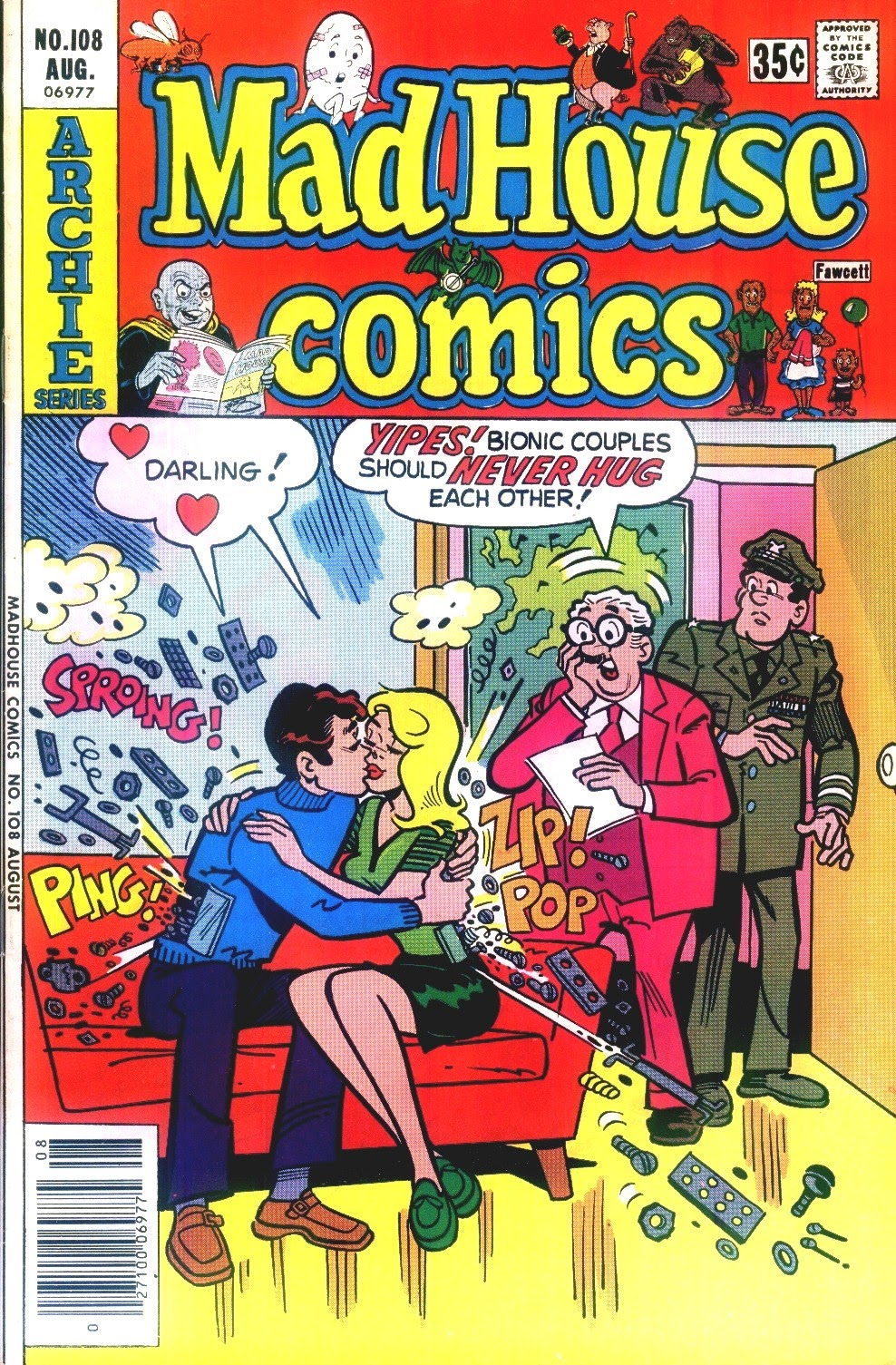 Read online Madhouse Comics comic -  Issue #108 - 1