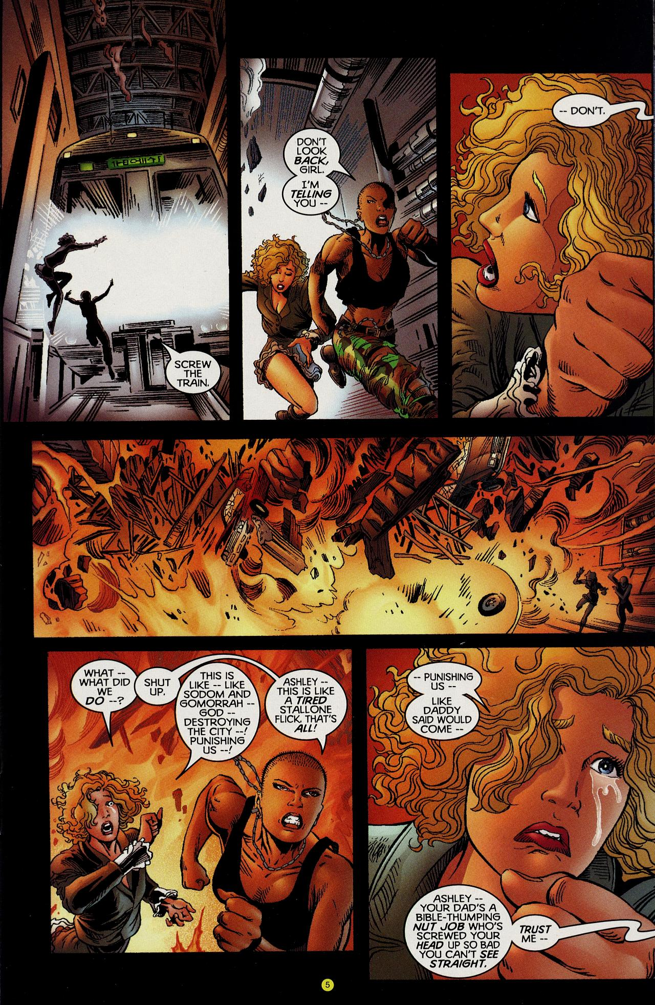 Read online Solar, Man of the Atom: Hell on Earth comic -  Issue #1 - 8