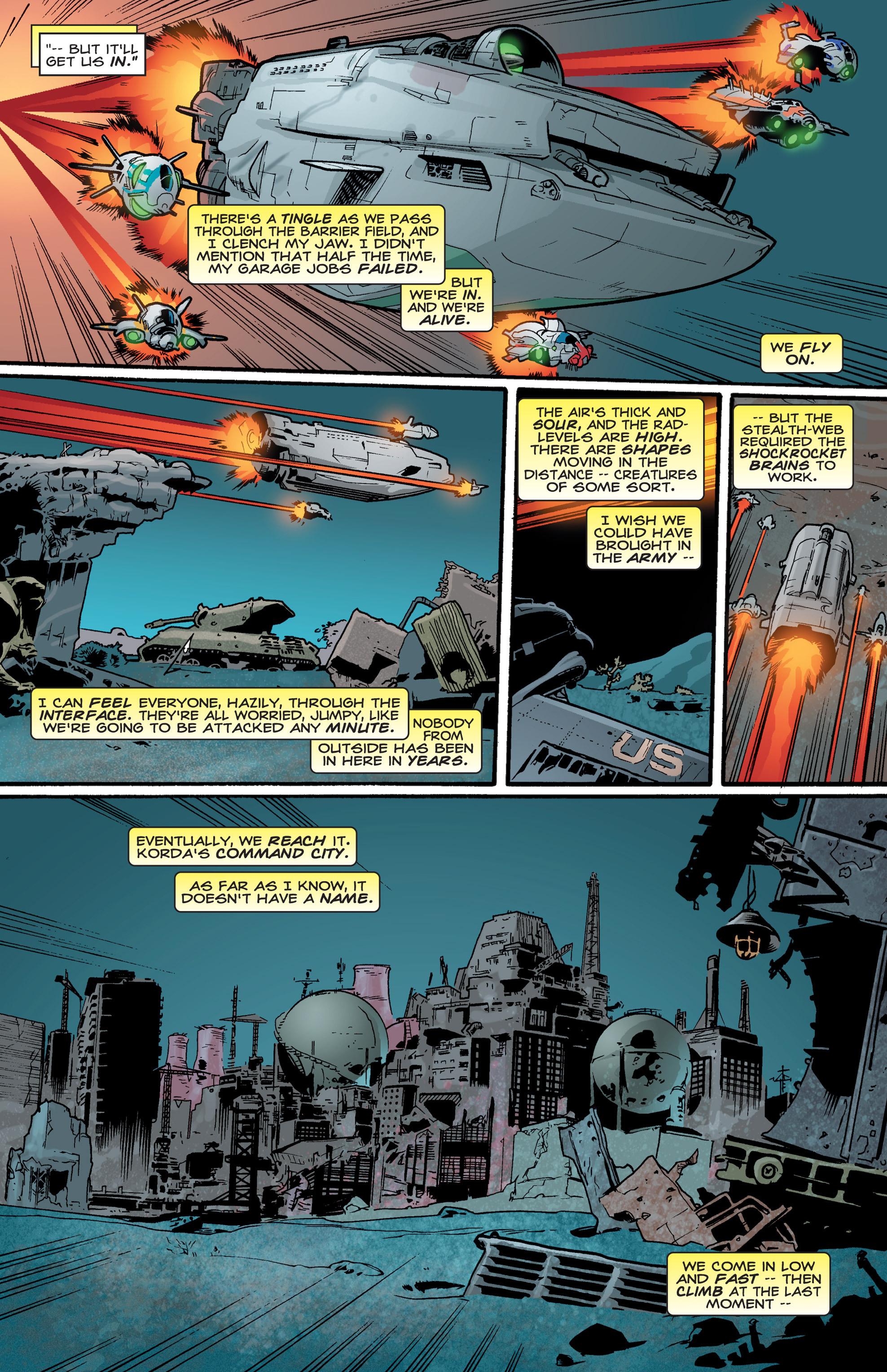 Read online Shockrockets comic -  Issue # TPB - 134
