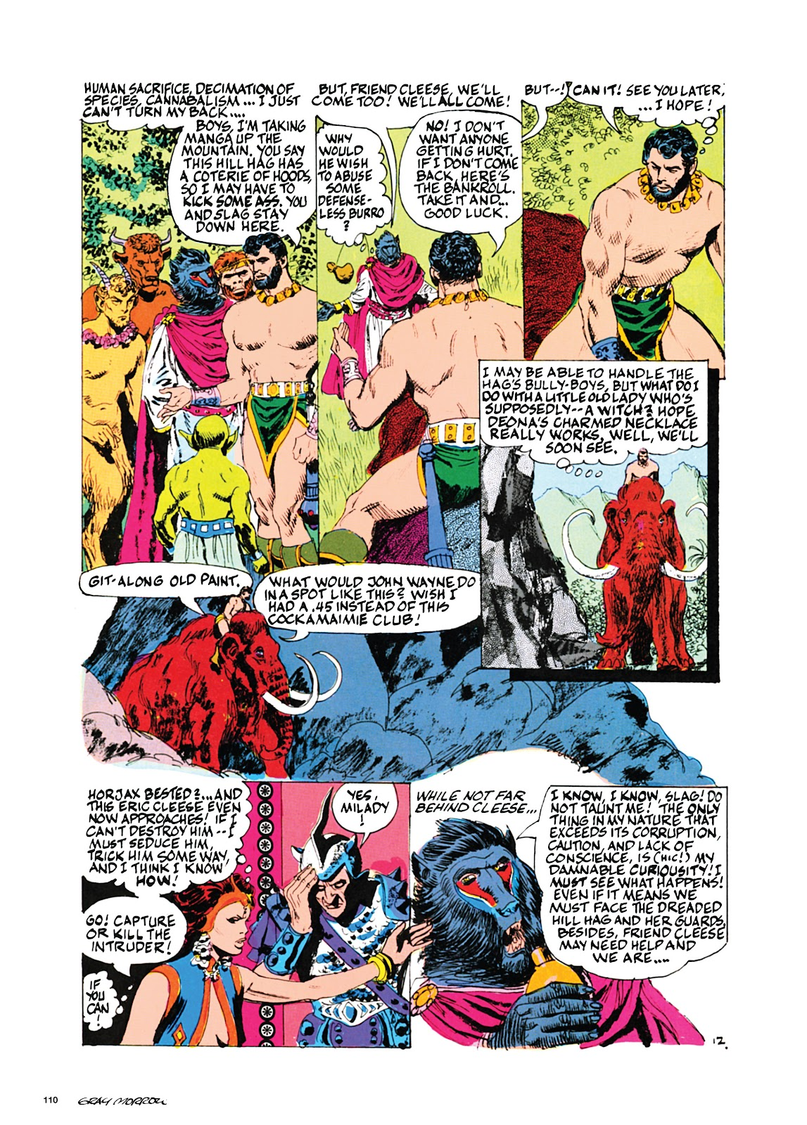 Read online Orion and Edge of Chaos comic -  Issue # TPB - 111
