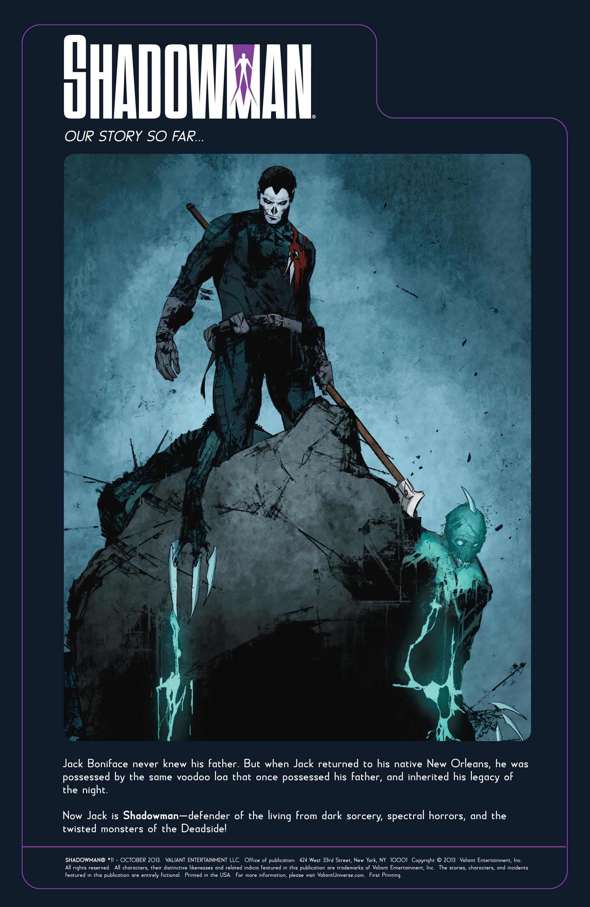 Read online Shadowman (2012) comic -  Issue #11 - 2