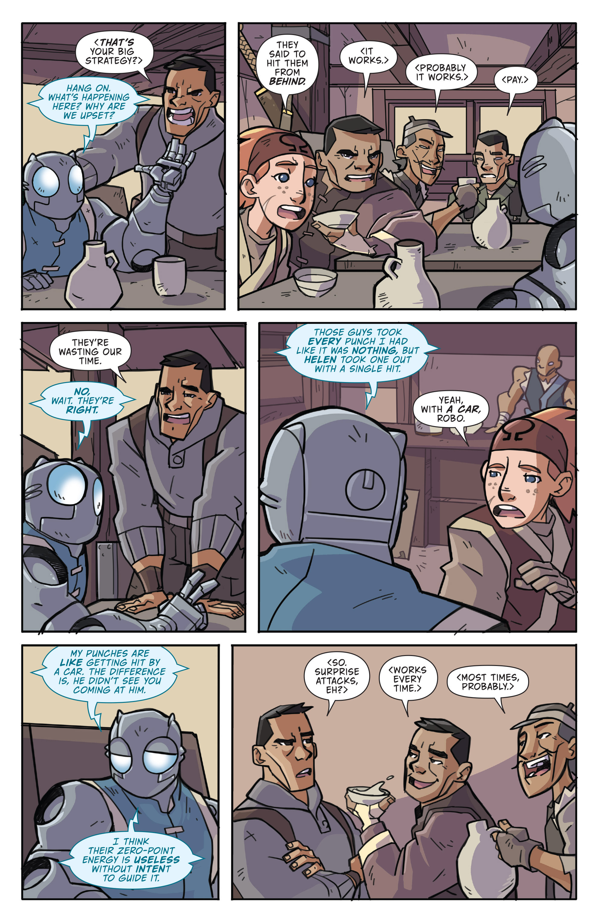 Read online Atomic Robo and the Temple of Od comic -  Issue #3 - 11