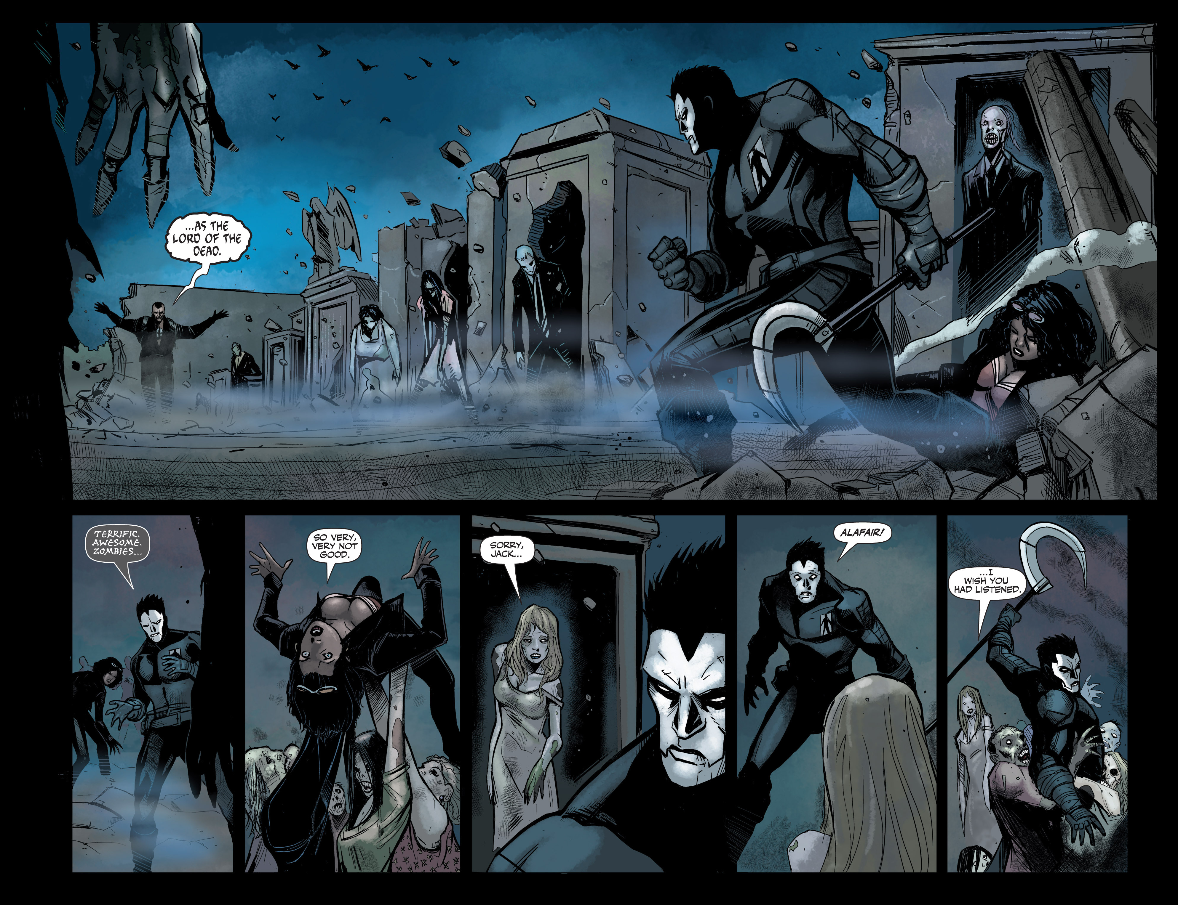 Read online Shadowman (2012) comic -  Issue #6 - 21