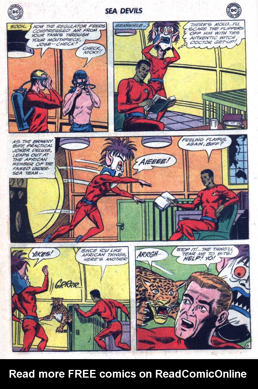 Read online Sea Devils comic -  Issue #25 - 10