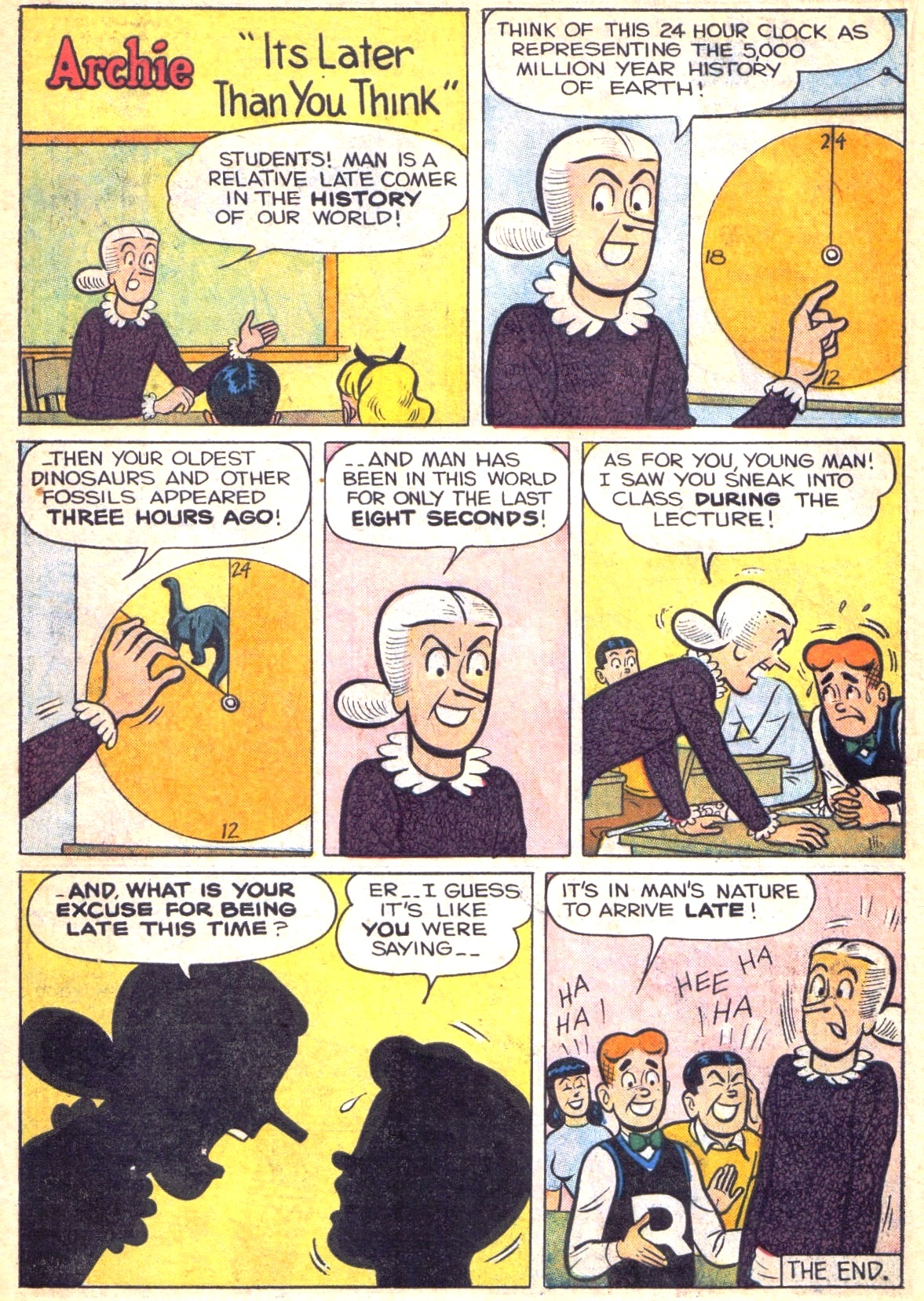Read online Archie (1960) comic -  Issue #138 - 22