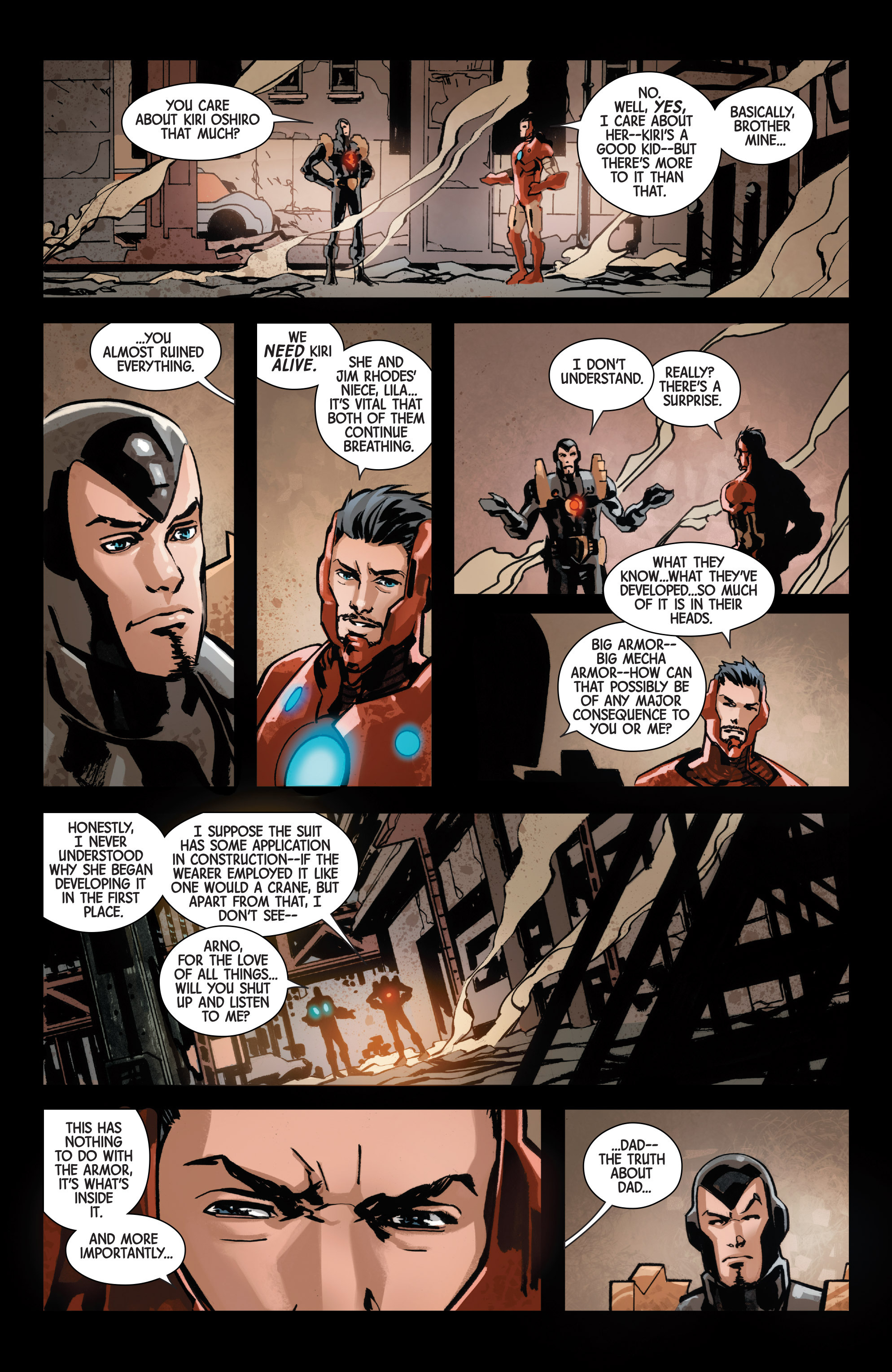 Read online Armor Wars comic -  Issue #5 - 9