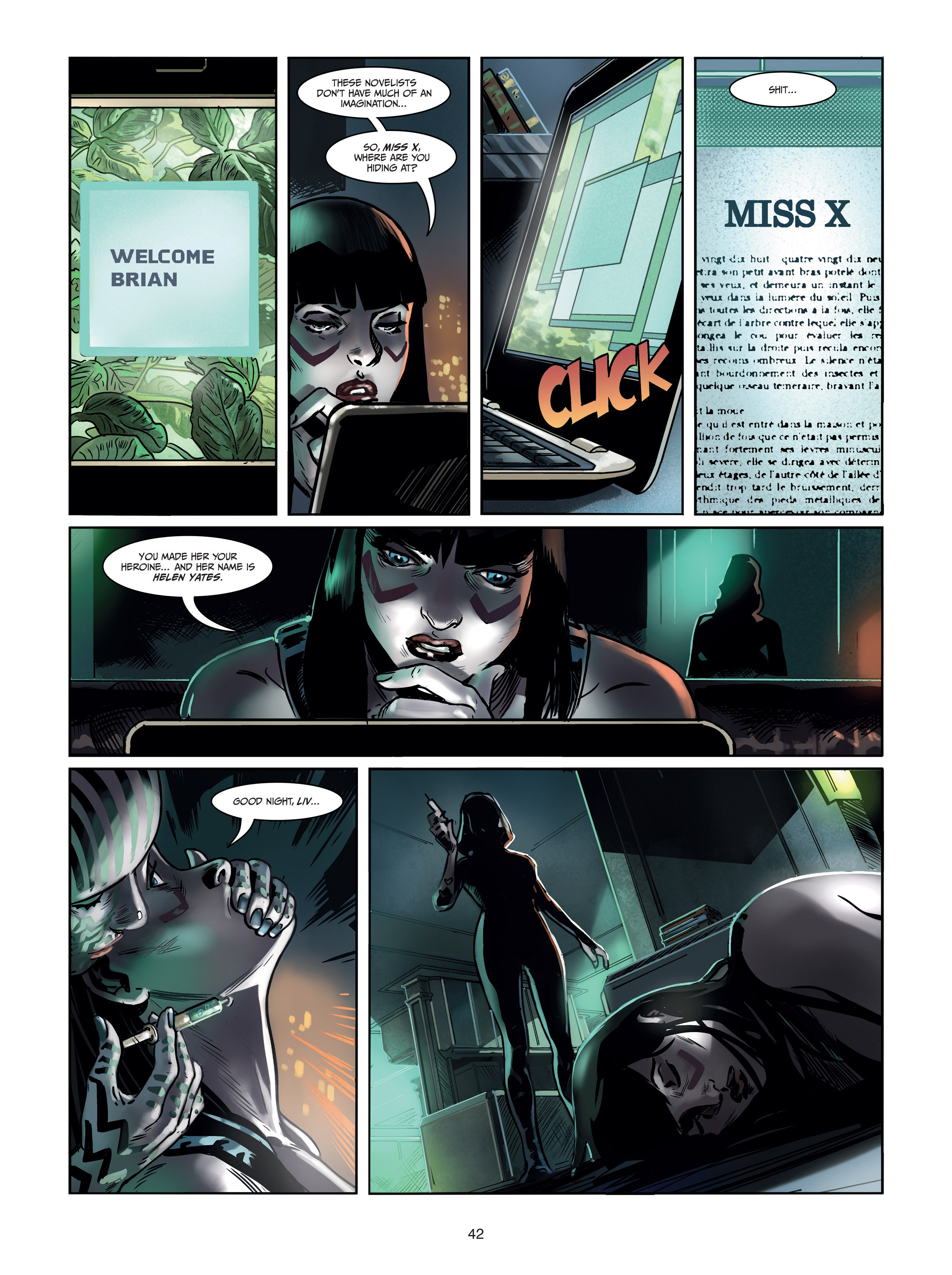 Read online Androïds comic -  Issue #1 - 40