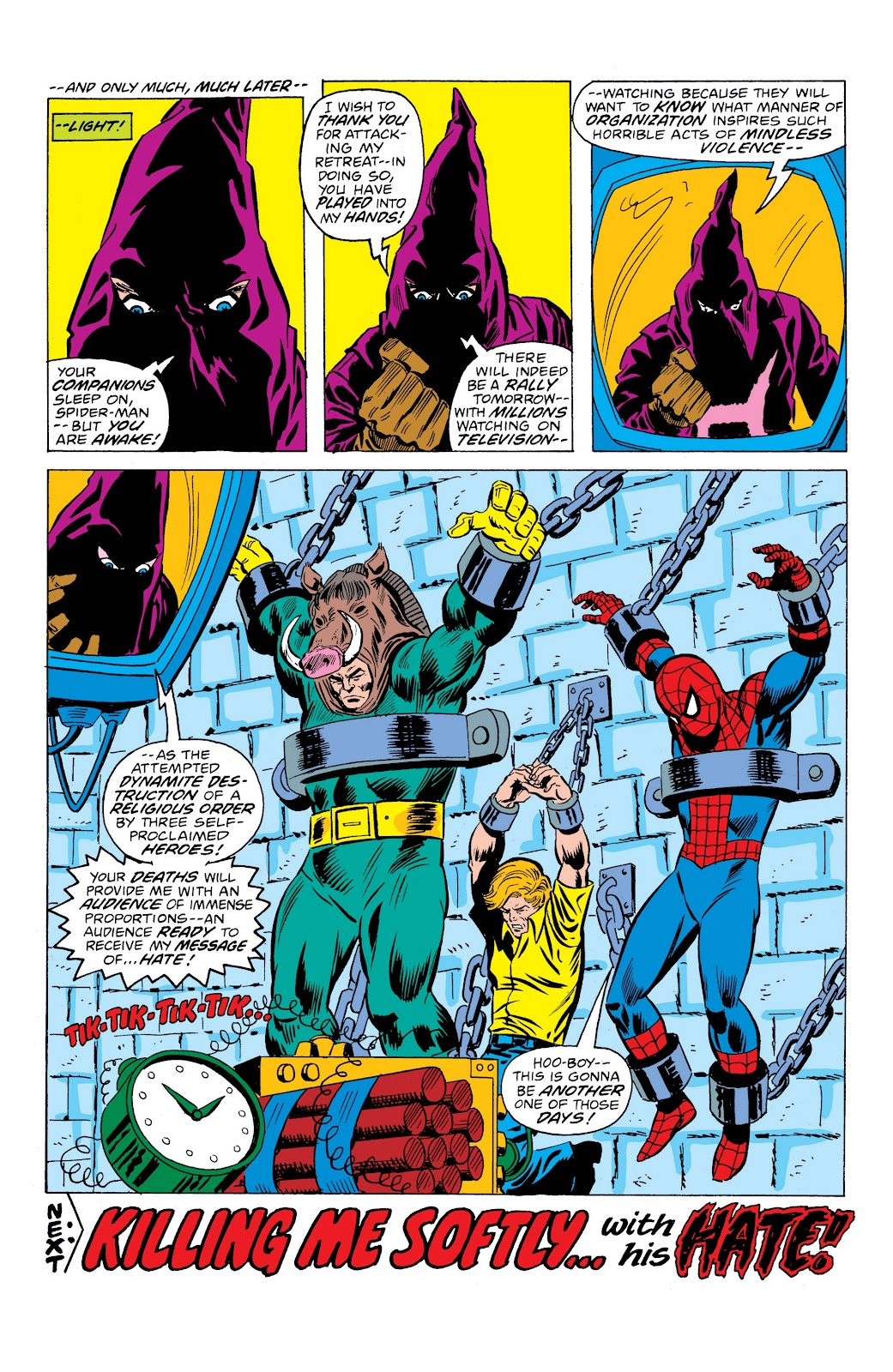 Read online Marvel Masterworks: The Spectacular Spider-Man comic -  Issue # TPB (Part 3) - 27